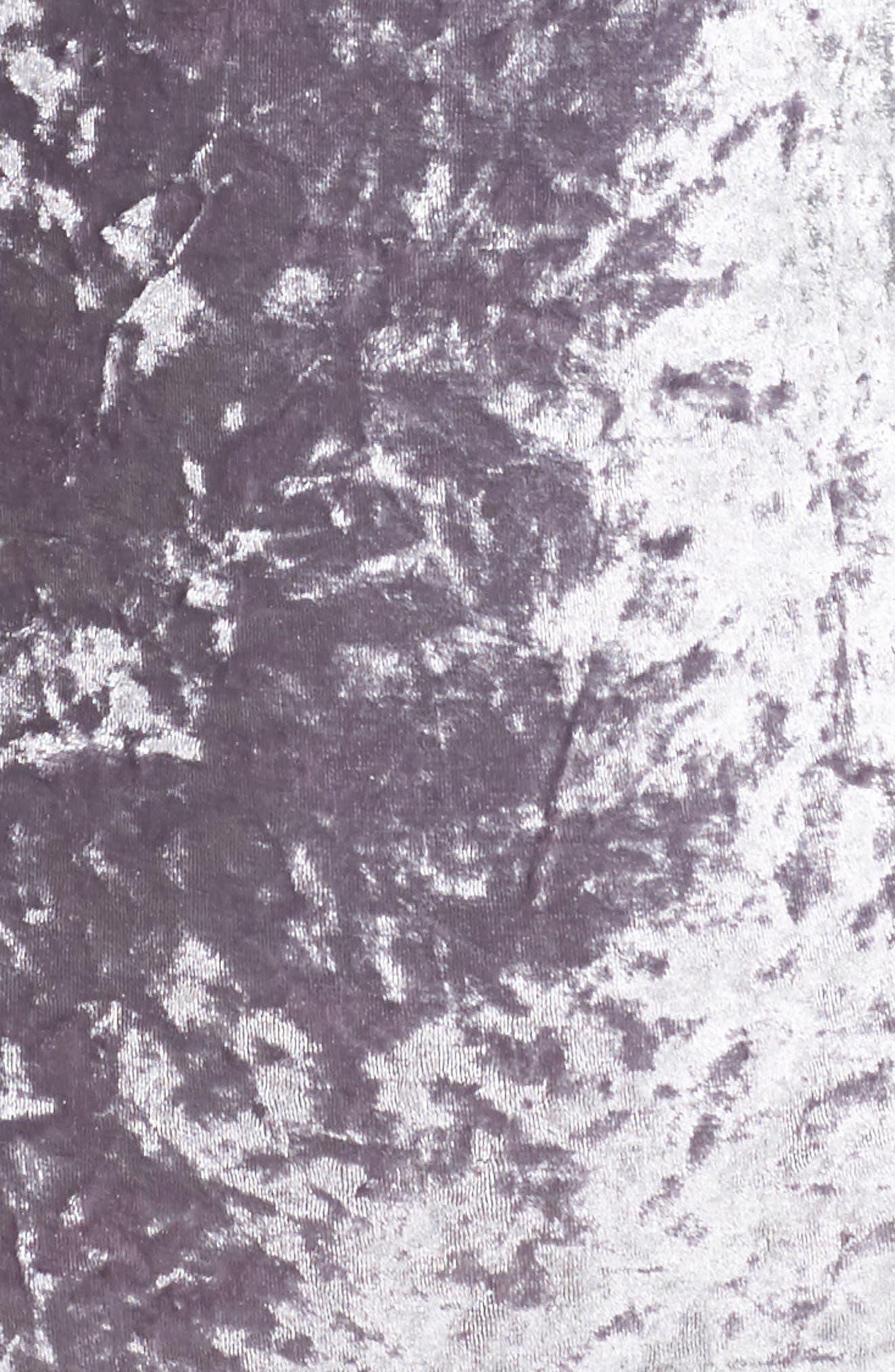 Crushed Velvet Bodysuit,                             Alternate thumbnail 5, color,                             040