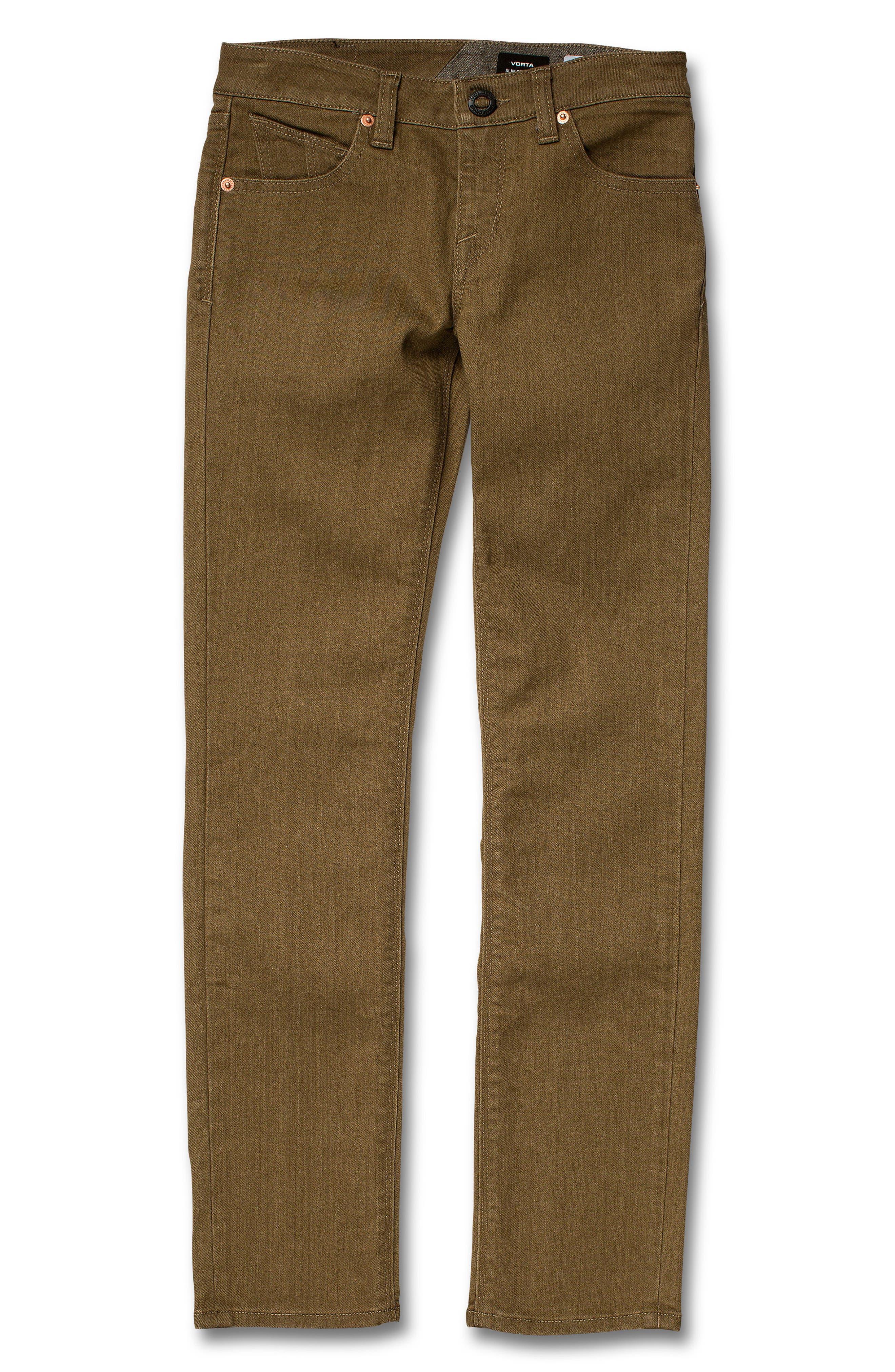 Vorta Slim Fit Jeans,                             Main thumbnail 1, color,                             WET SAND