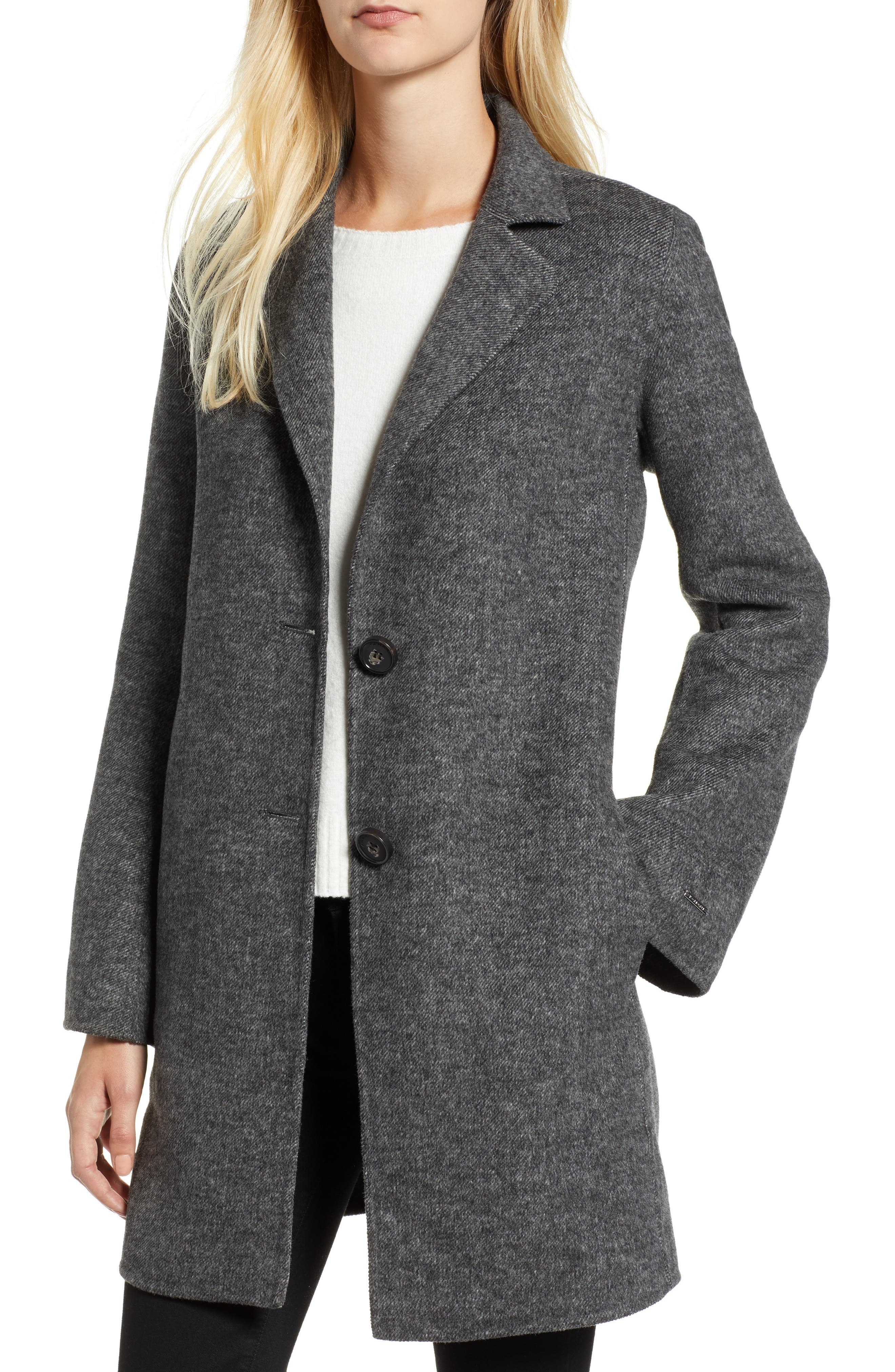 Jayden Bell Sleeve Jacket,                             Main thumbnail 1, color,                             GREY TWILL