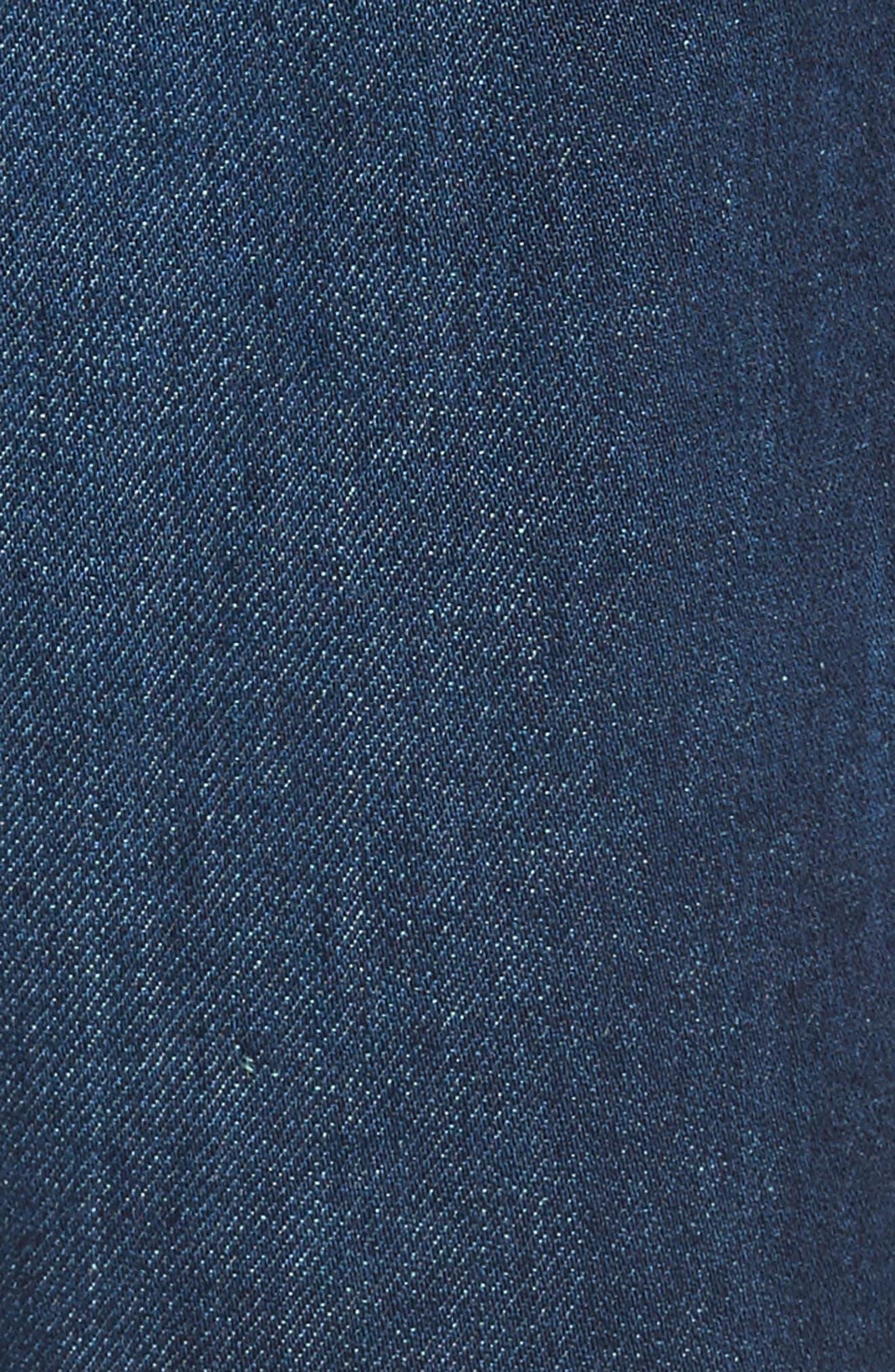 Graduate Slim Straight Fit Jeans,                             Alternate thumbnail 5, color,
