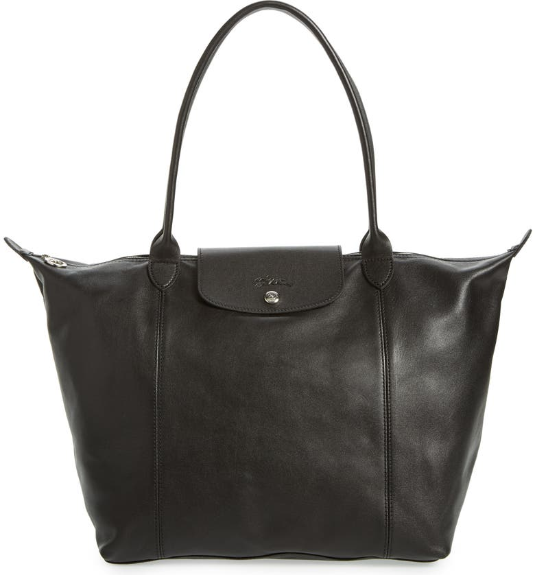 Longchamp Le Pliage Cuir Leather Tote (Nordstrom Exclusive)  033b459f8ba89