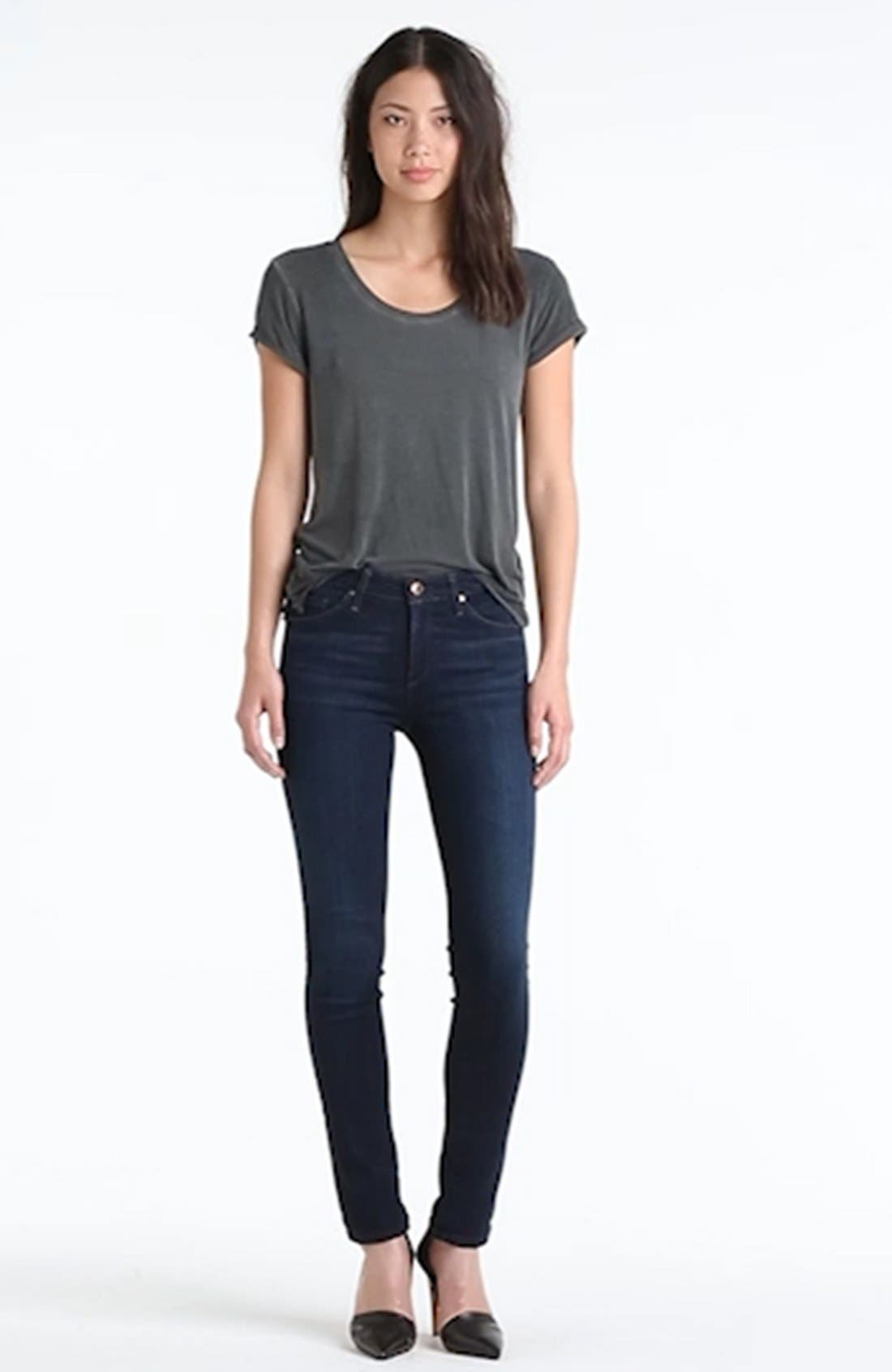Skinny Stretch Jeans,                             Alternate thumbnail 16, color,