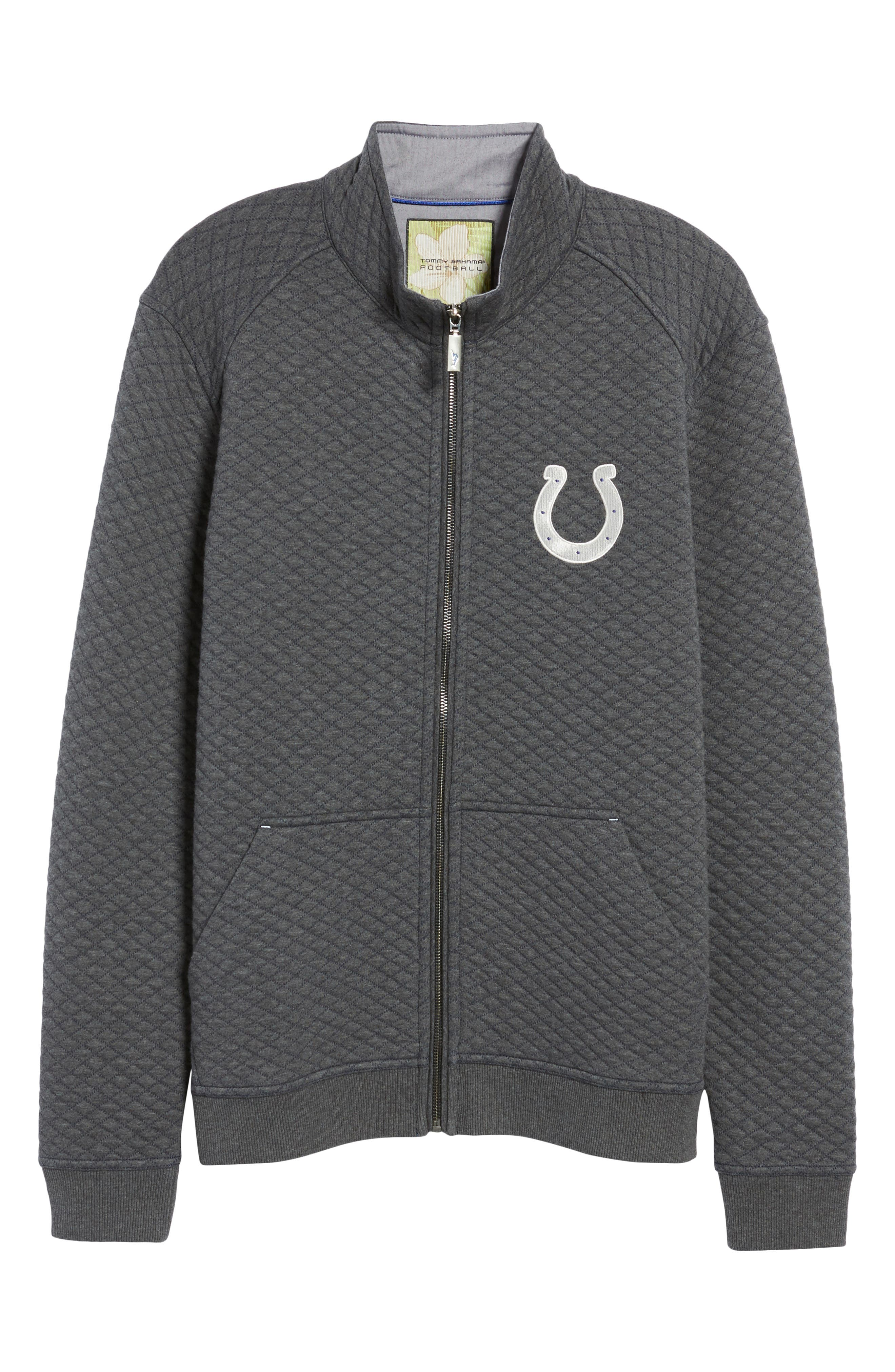 NFL Quiltessential Full Zip Sweatshirt,                             Alternate thumbnail 166, color,