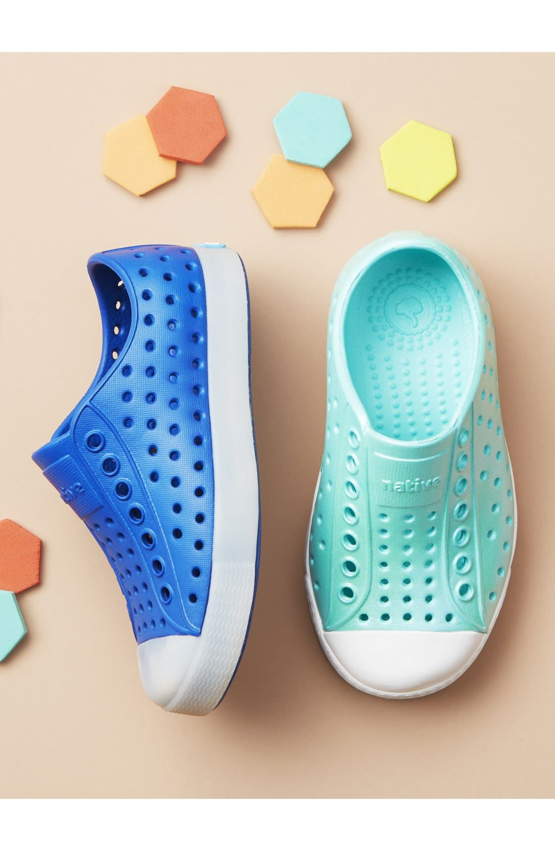 'Jefferson' Iridescent Slip-On Sneaker,                             Alternate thumbnail 2, color,                             GREEN/ SHELL WHITE/ GALAXY
