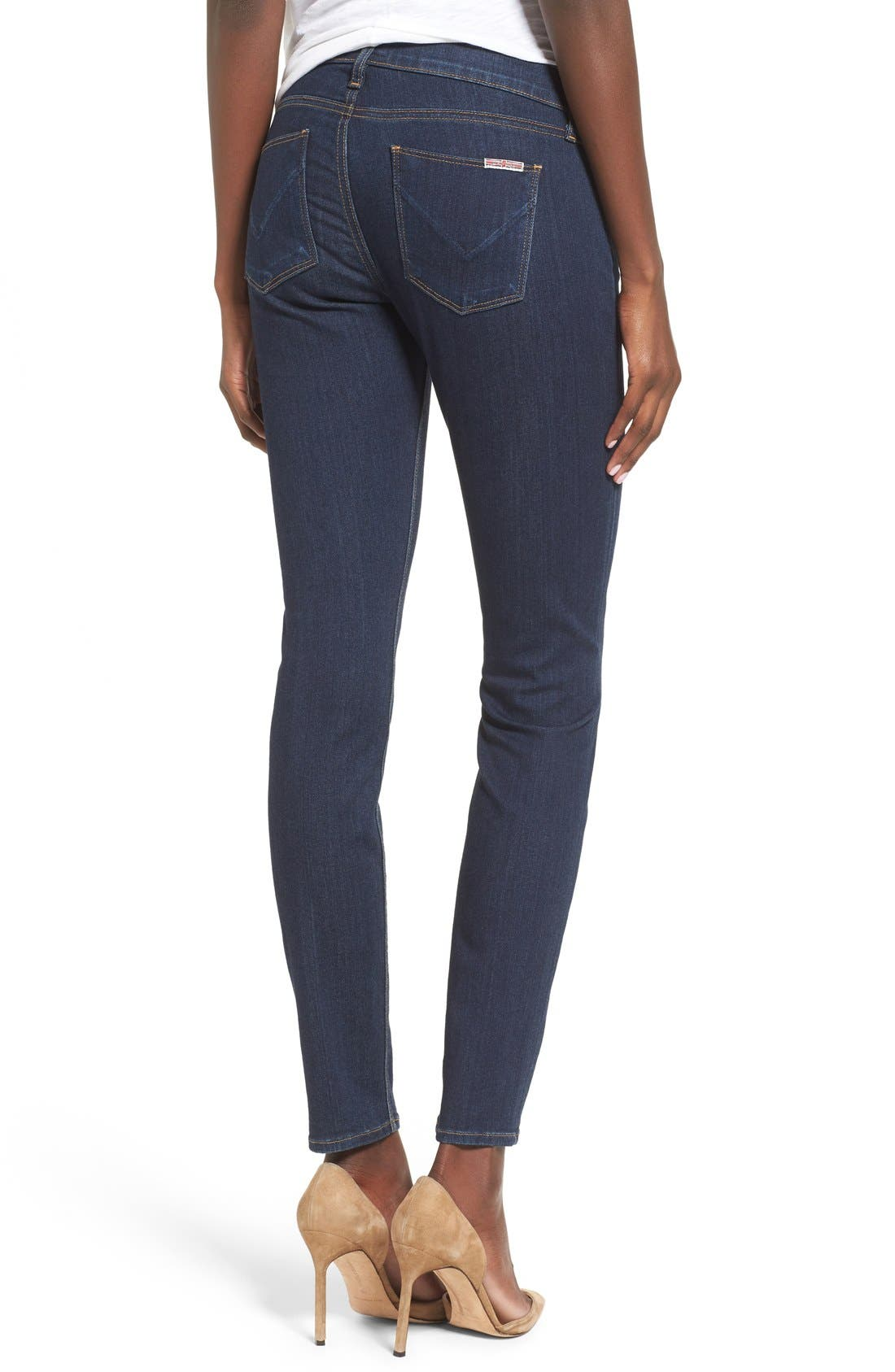 'Krista' Super Skinny Jeans,                             Alternate thumbnail 2, color,                             408