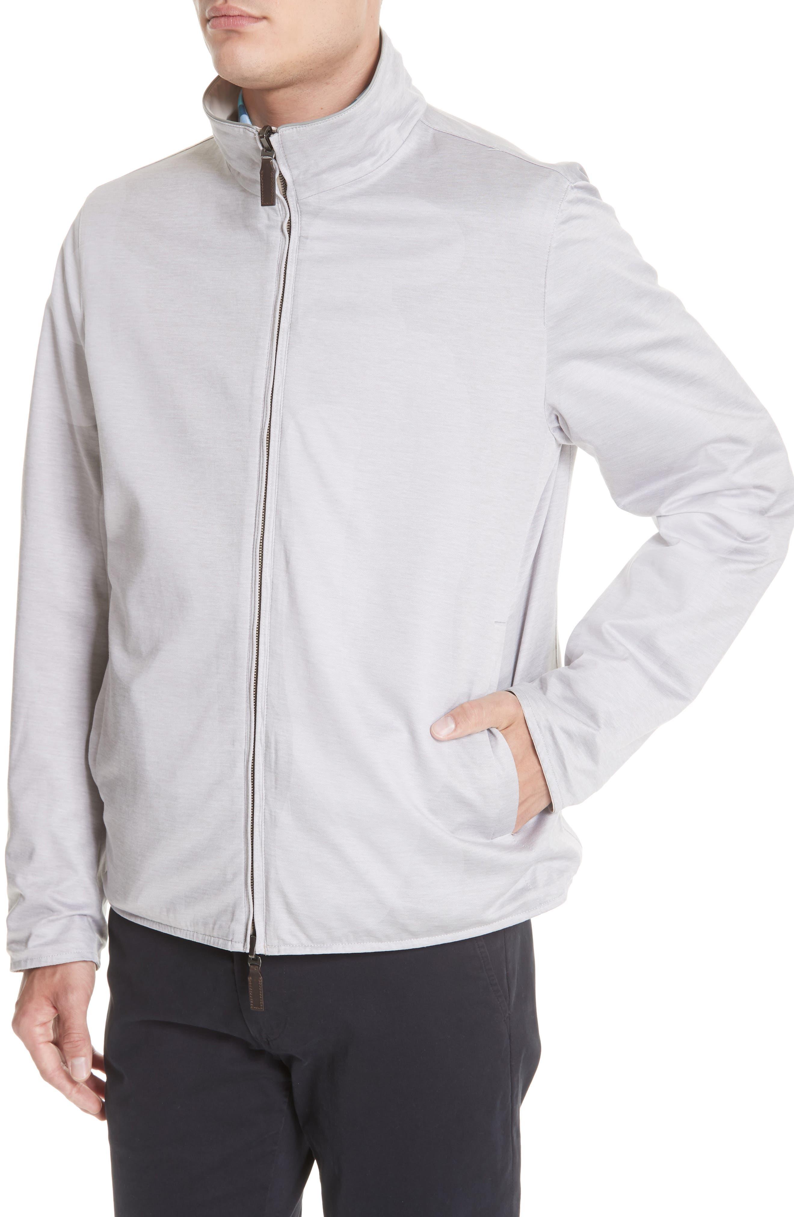 Regular Fit Cotton Jacket,                             Alternate thumbnail 2, color,