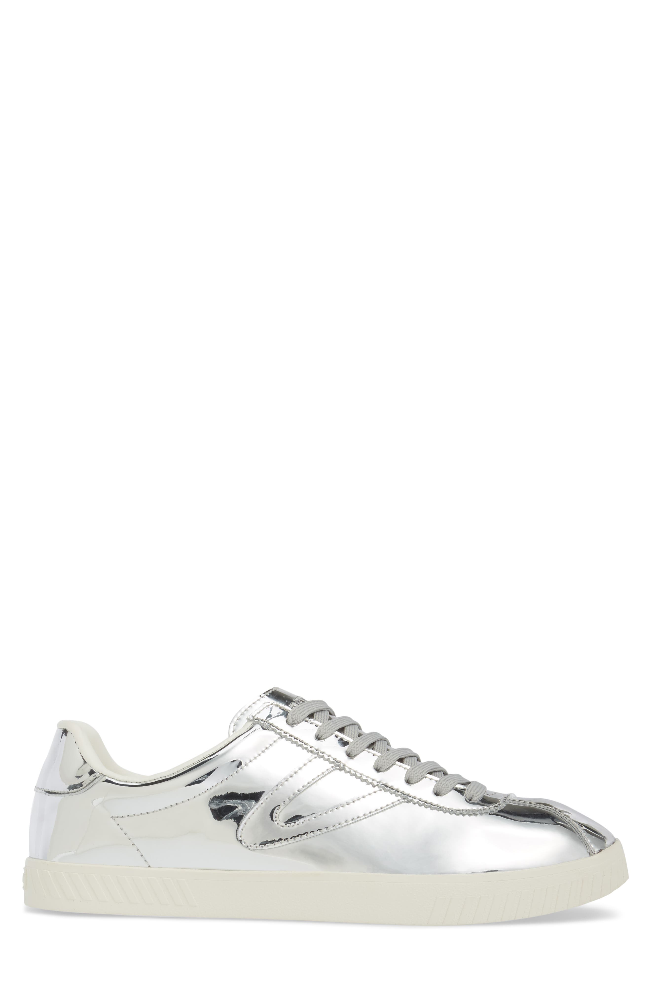 Camden 2 Sneaker,                             Alternate thumbnail 3, color,                             SILVER LEATHER