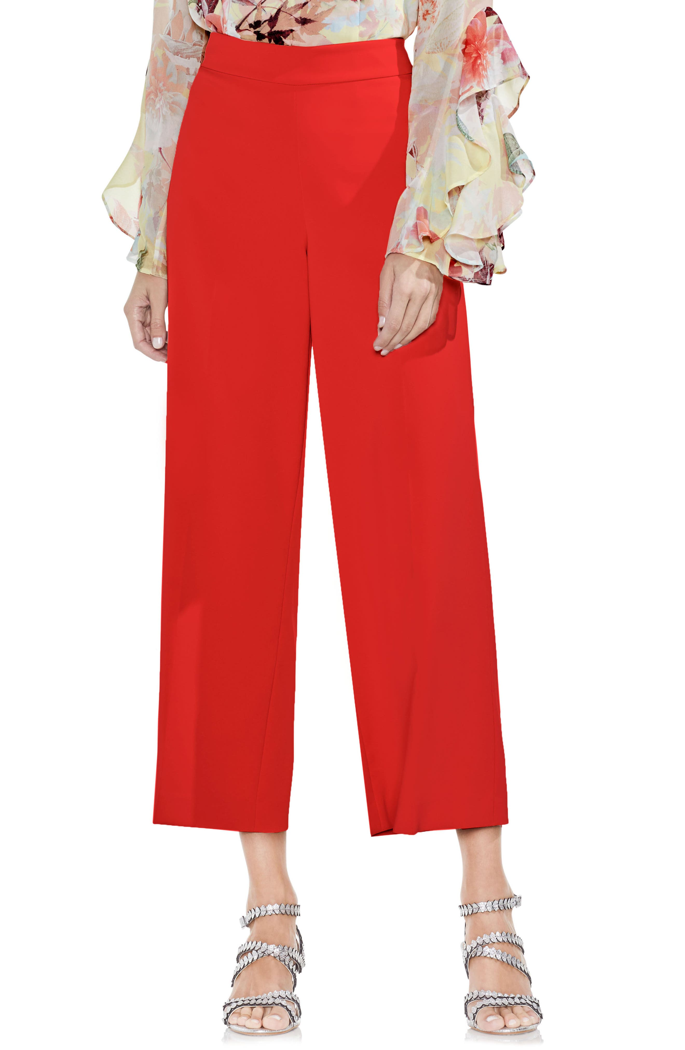 High-Waist Crop Pants,                             Main thumbnail 3, color,