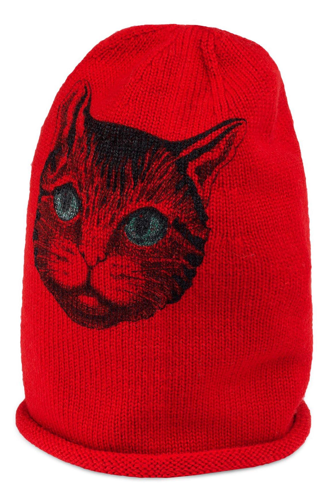 Catty Beanie,                             Main thumbnail 1, color,                             600