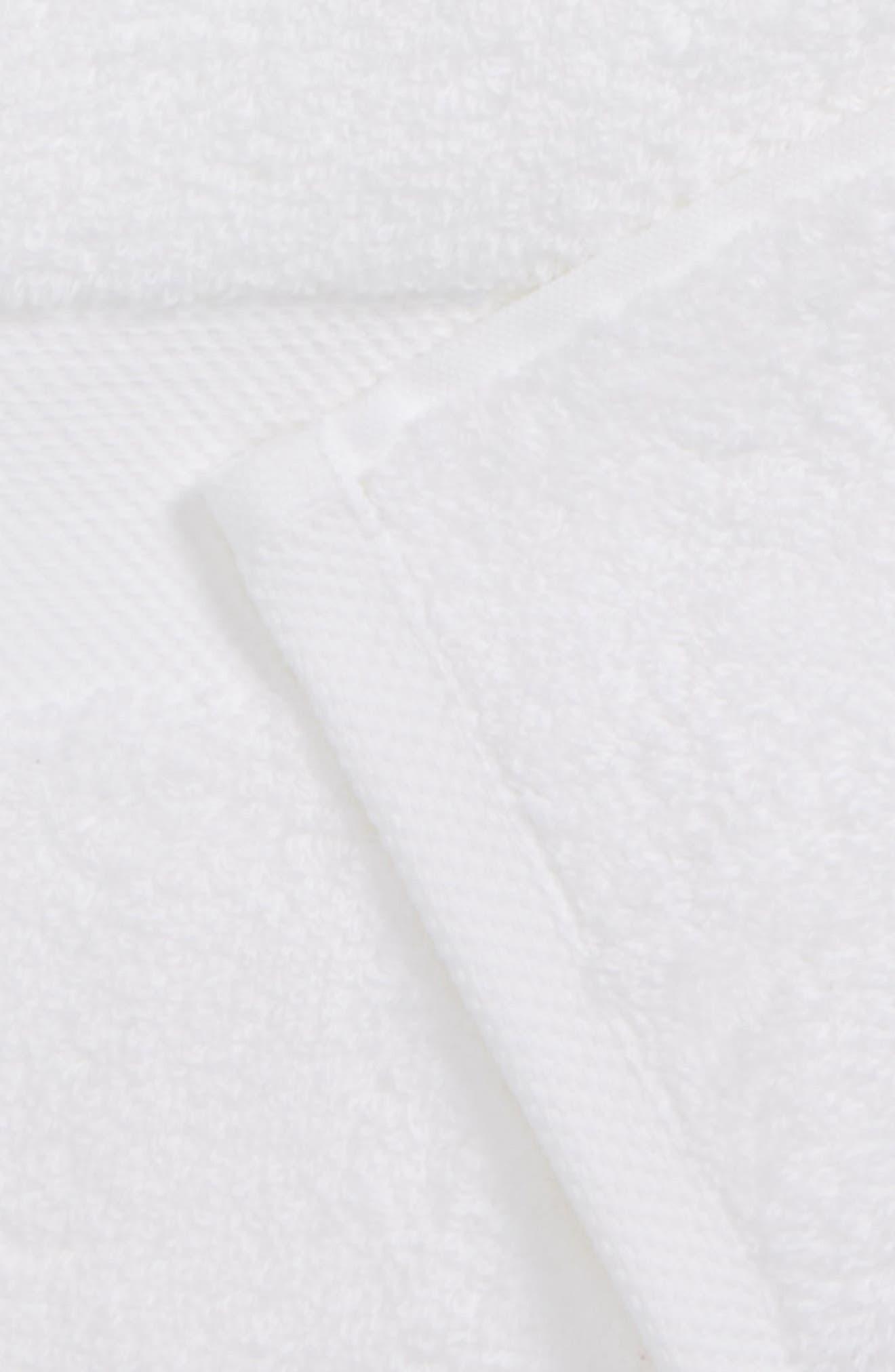 Lotus Hand Towel,                             Alternate thumbnail 2, color,                             WHITE