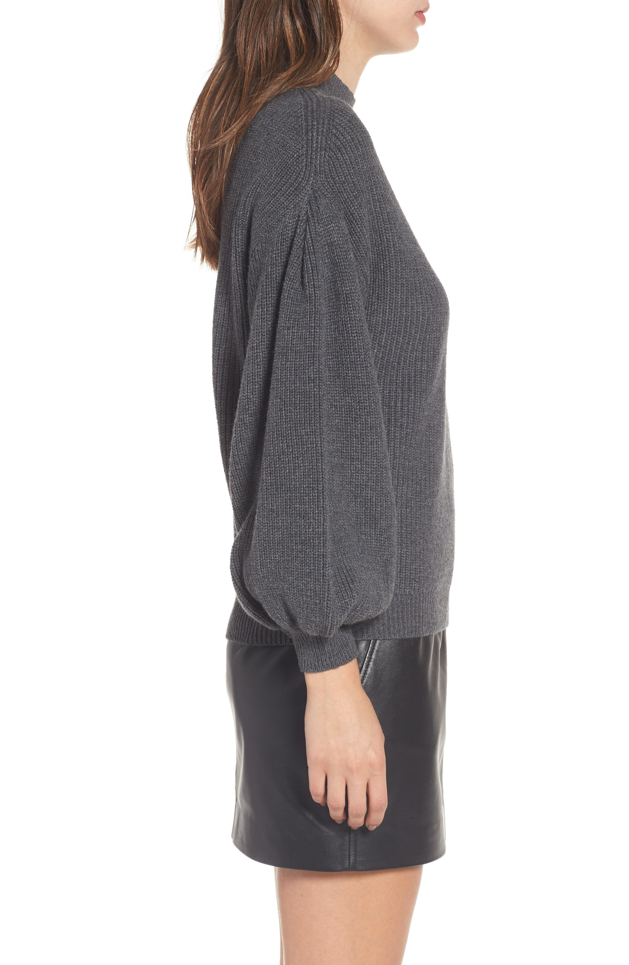 Blouson Sleeve Sweater,                             Alternate thumbnail 3, color,                             031