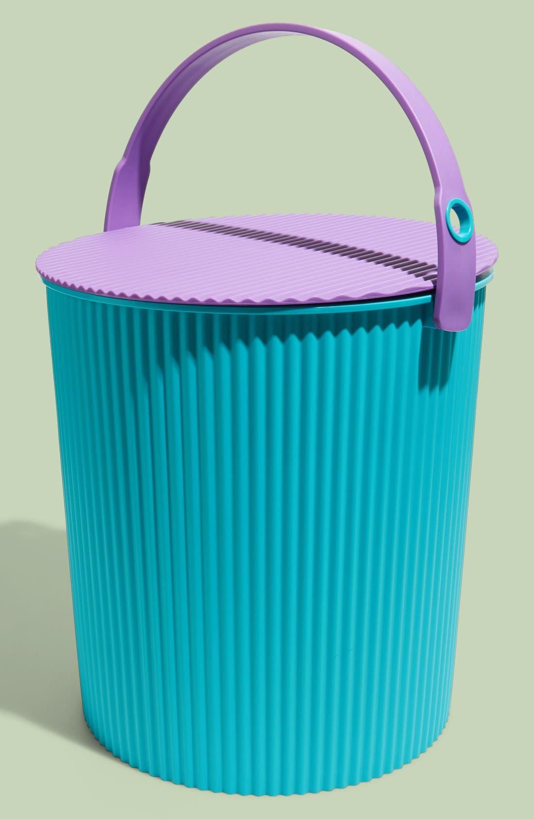 'Omnioutil' X-Large Lidded Bucket,                             Main thumbnail 1, color,                             440