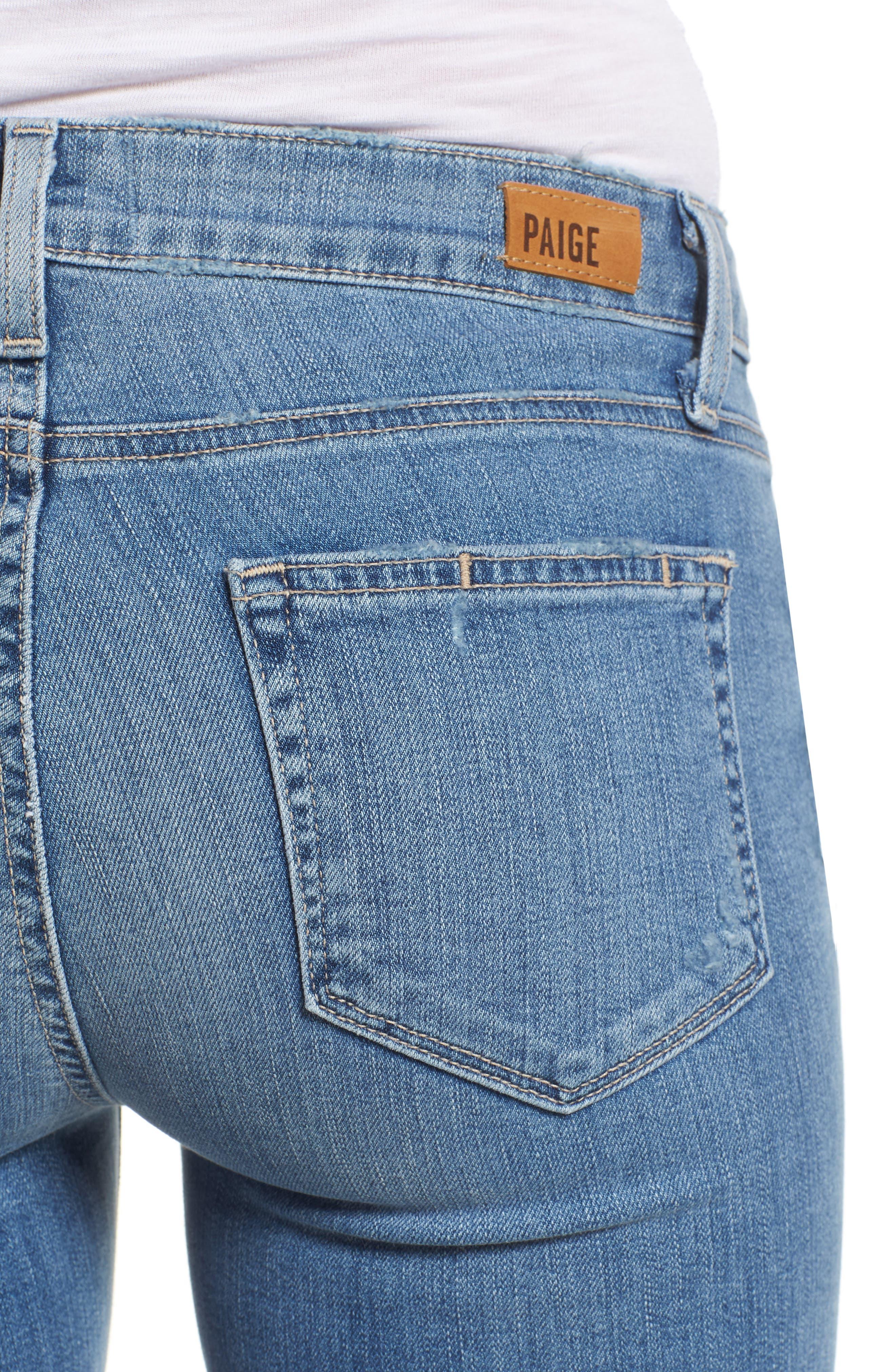 Verdugo Crop Skinny Jeans,                             Alternate thumbnail 4, color,                             SOTO