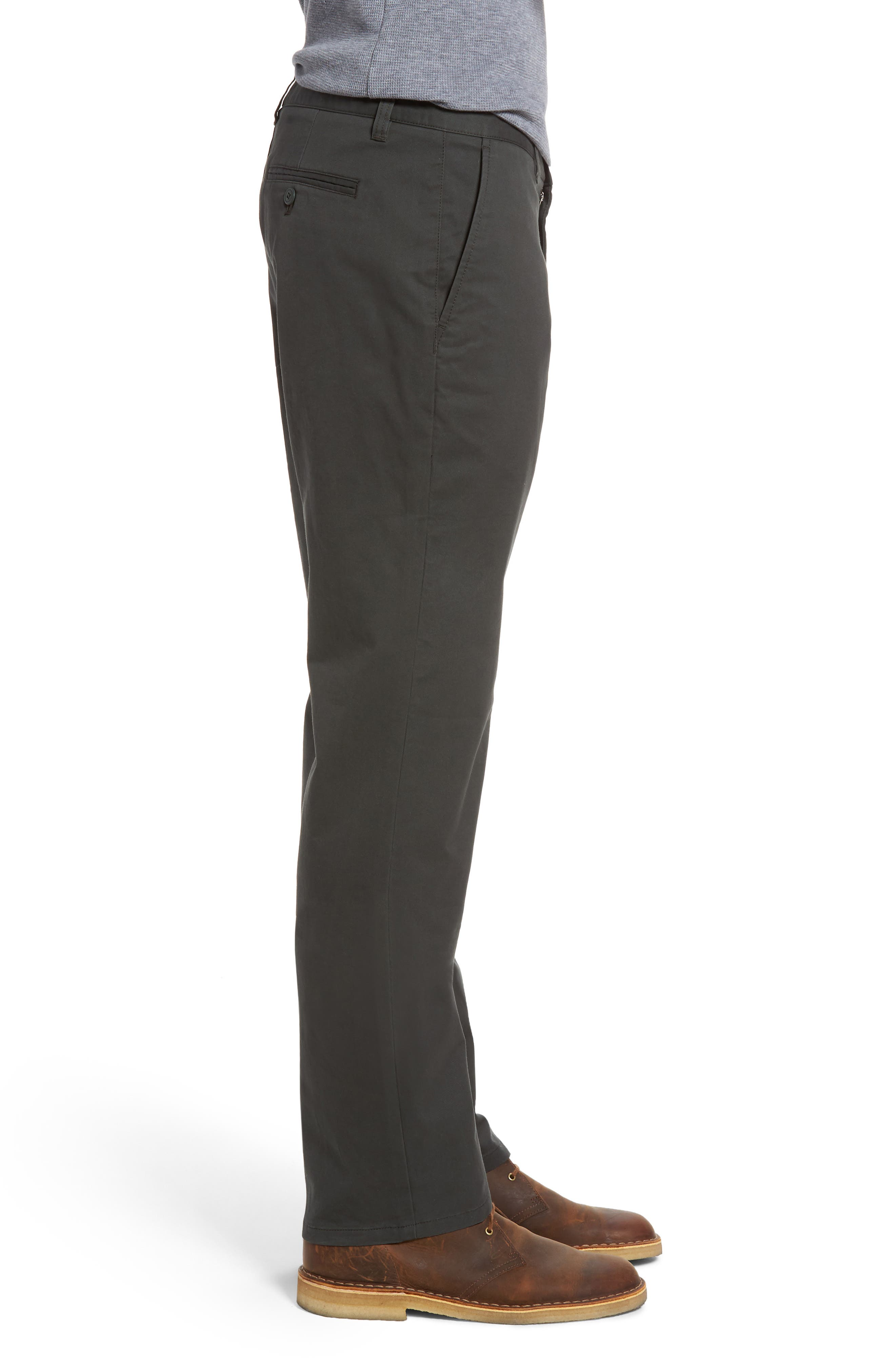 Straight Leg Stretch Washed Chinos,                             Alternate thumbnail 10, color,