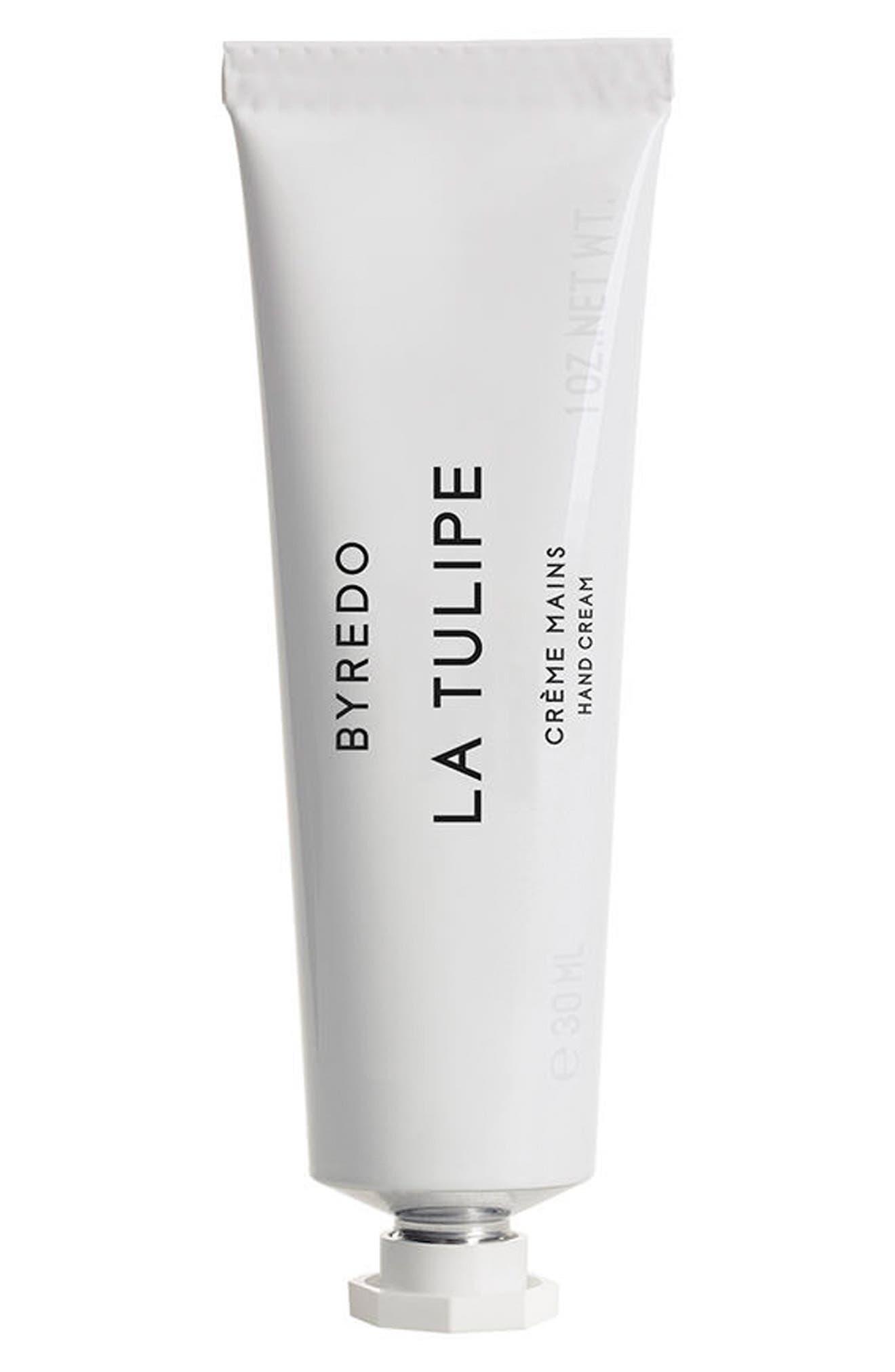 La Tulipe Hand Cream,                             Main thumbnail 1, color,                             NO COLOR