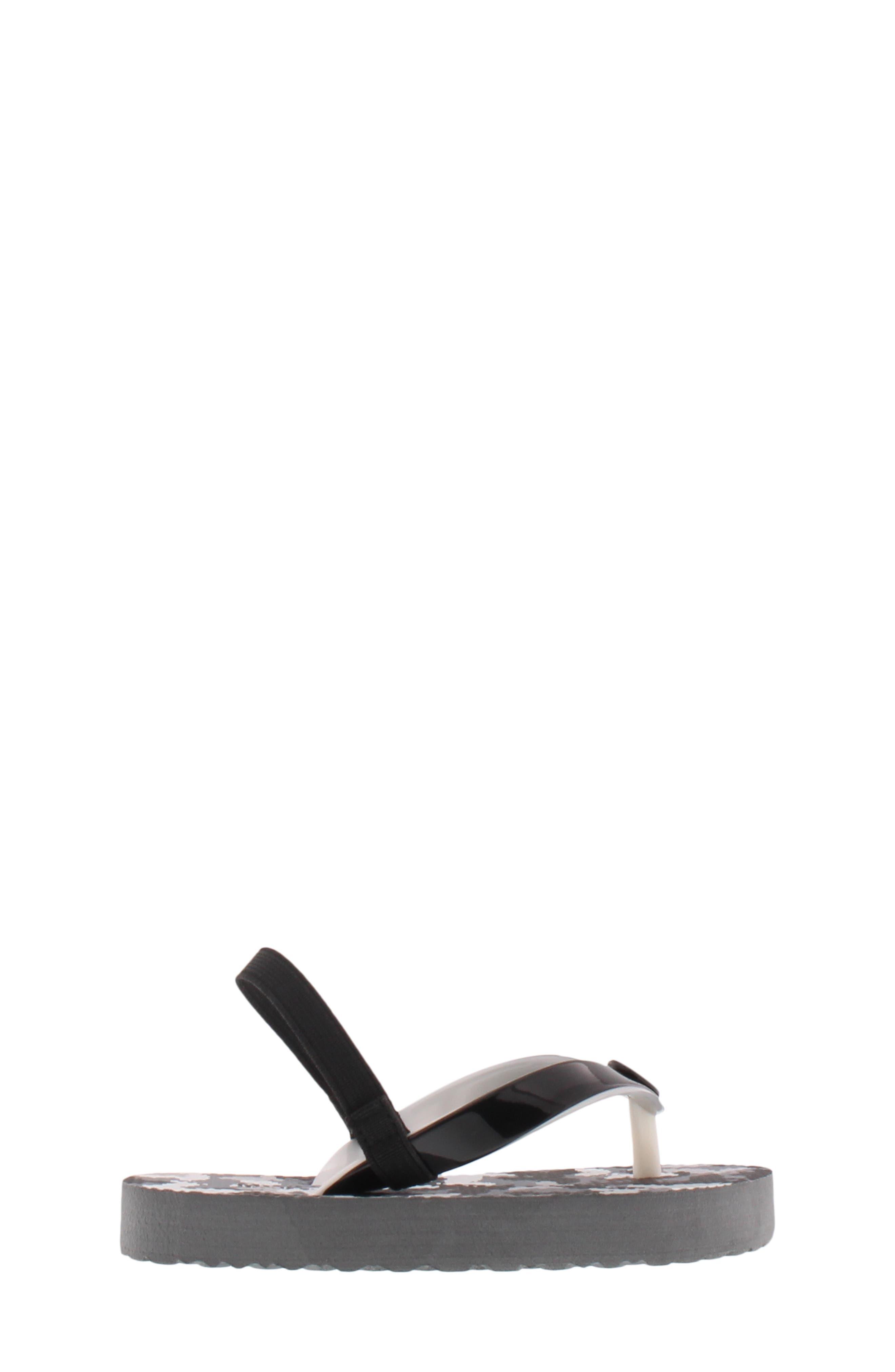 Endine Butterfly Sandal,                             Alternate thumbnail 3, color,                             BLACK GREY