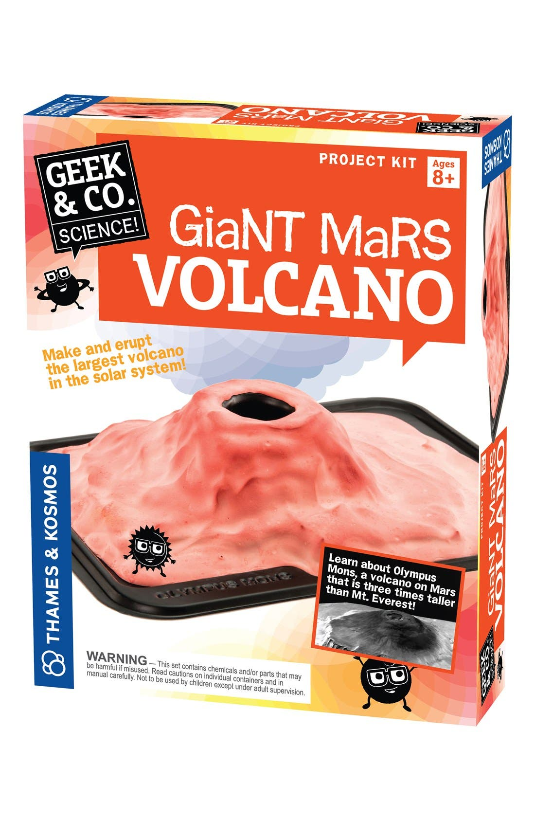 'Giant Mars Volcano' Project Kit,                         Main,                         color, 800