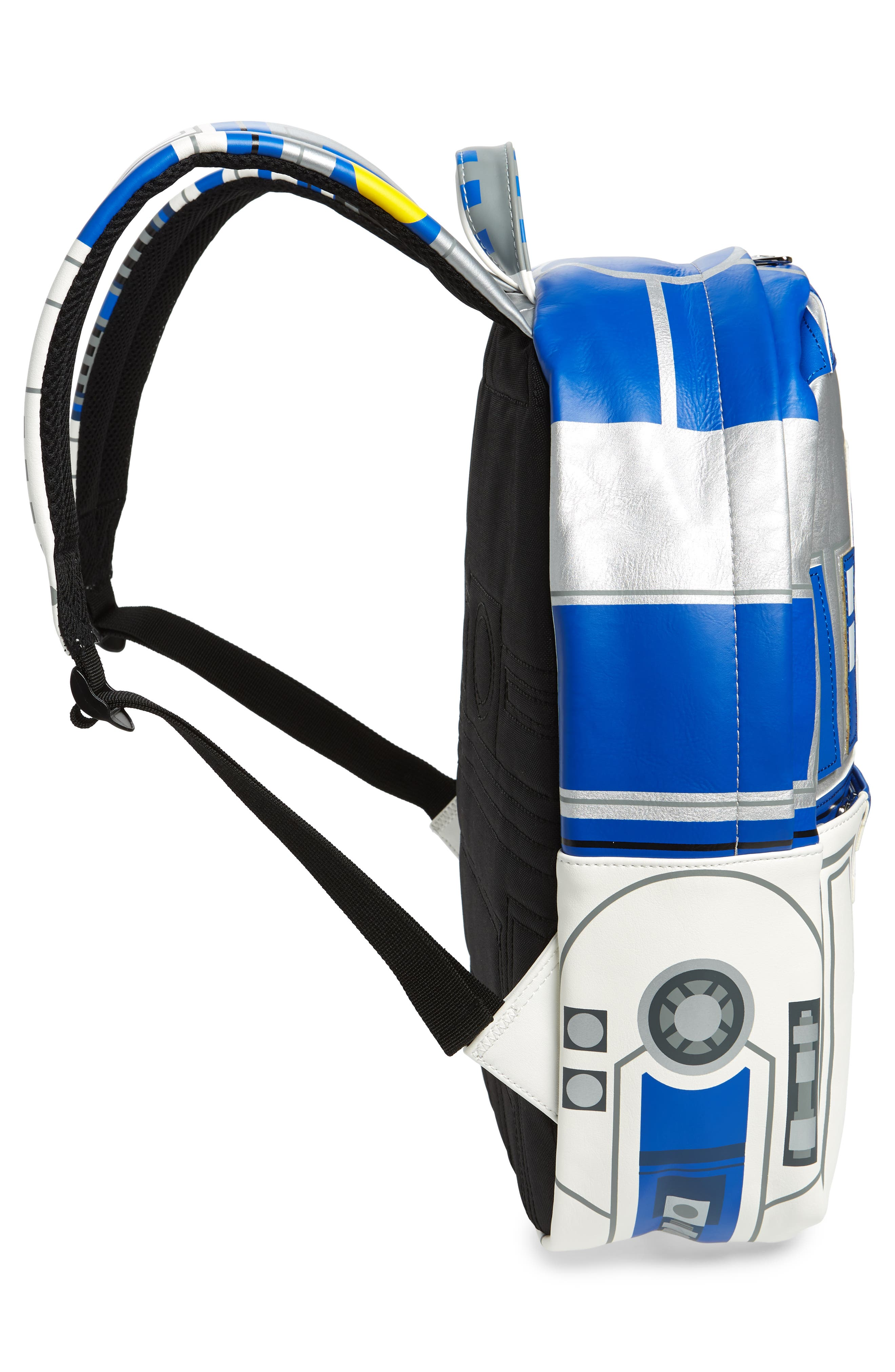 x Star Wars R2-D2 Faux Leather Backpack,                             Alternate thumbnail 4, color,                             040