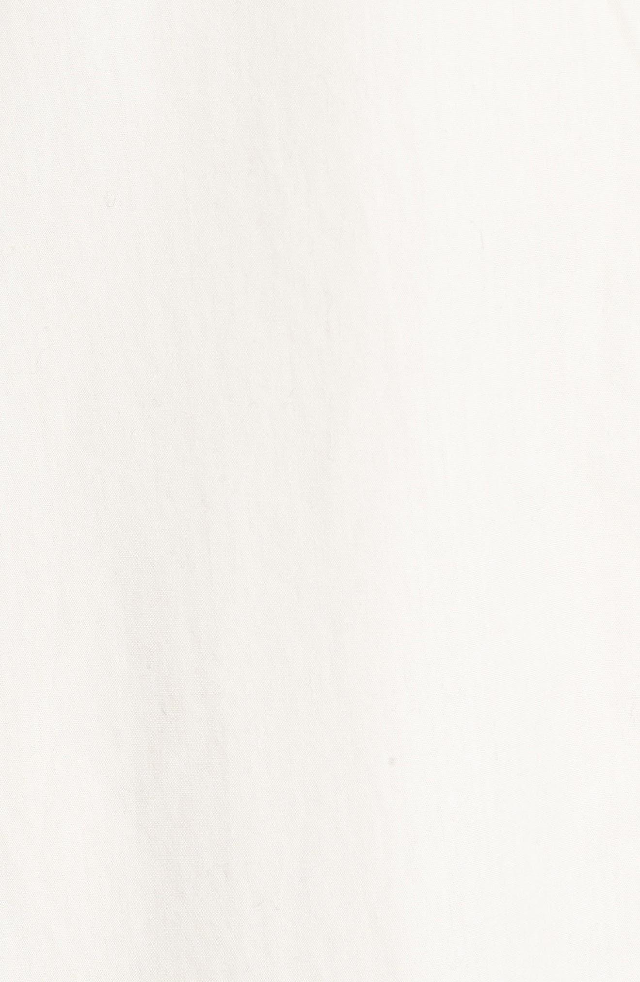 Bell Sleeve Shift Dress,                             Alternate thumbnail 7, color,                             100