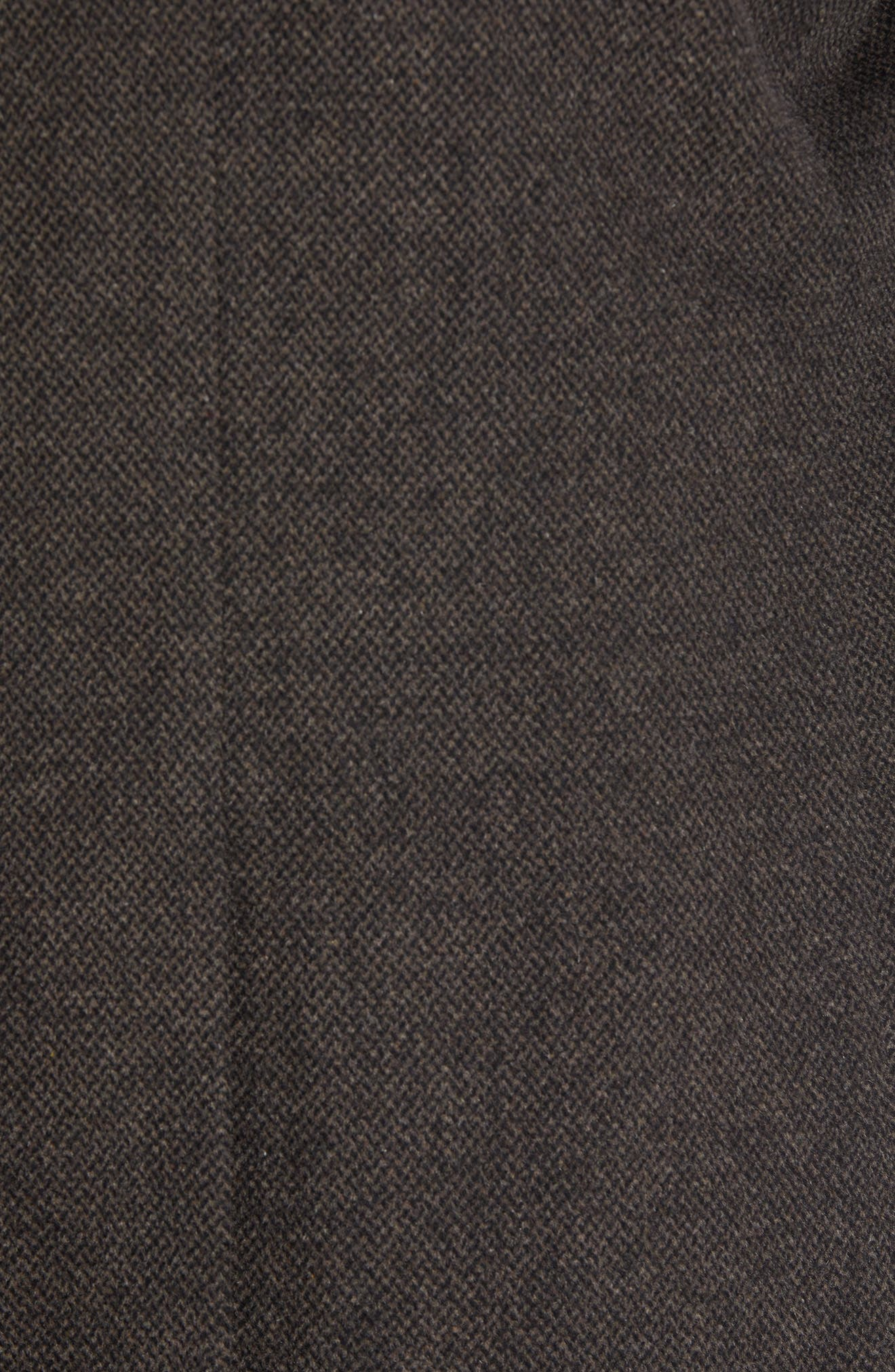 Kingman Modern Fit Wool Blend Coat with Removable Zipper Bib,                             Alternate thumbnail 11, color,