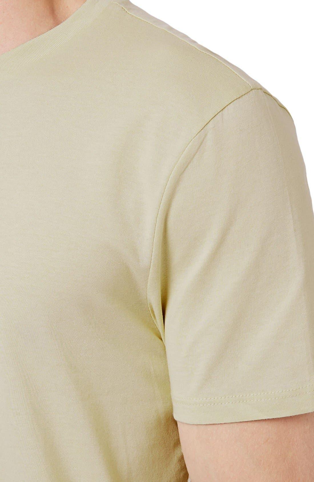 Slim Fit Crewneck T-Shirt,                             Alternate thumbnail 141, color,
