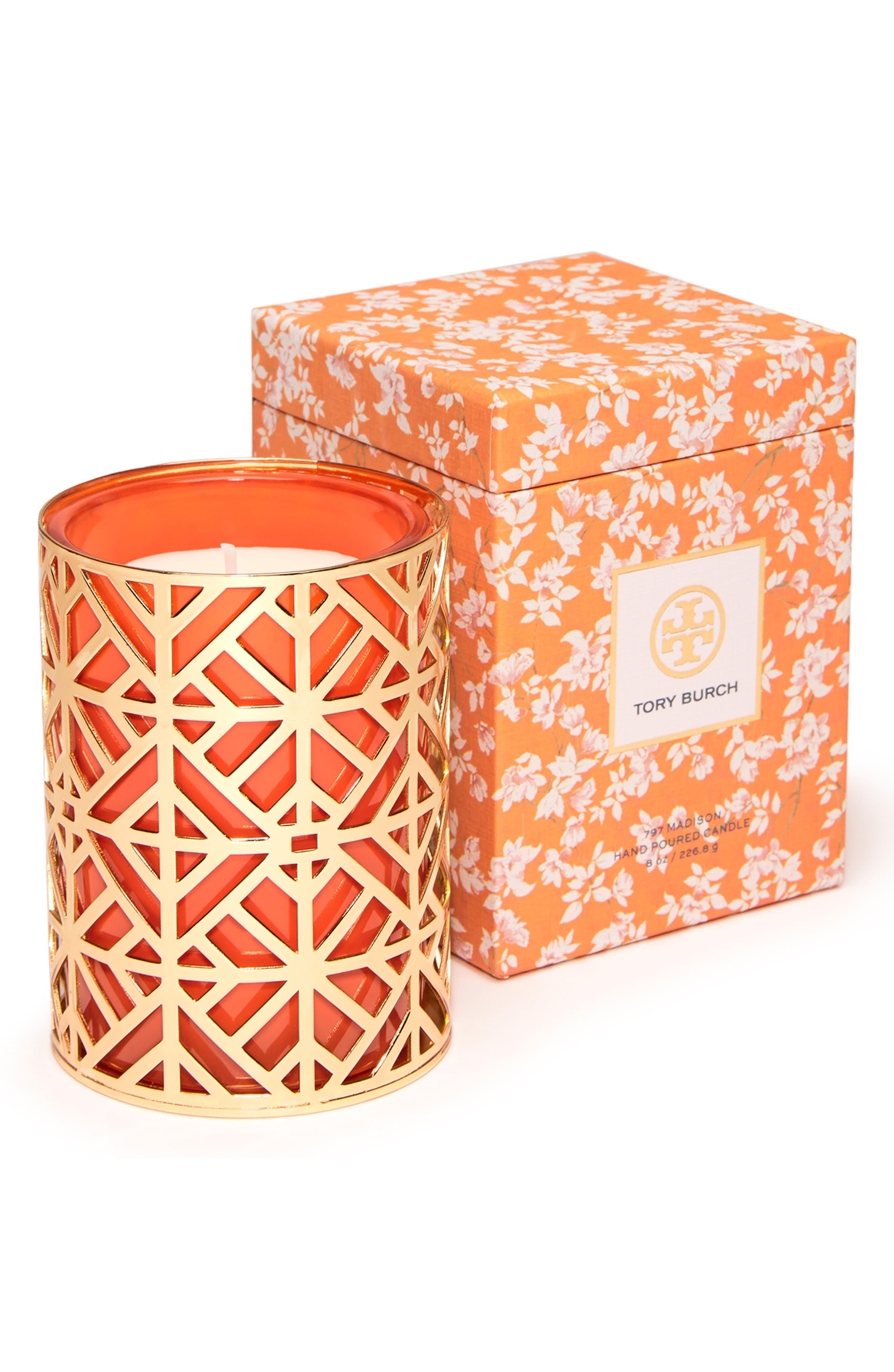 Pillar Candle,                         Main,                         color, ORANGE