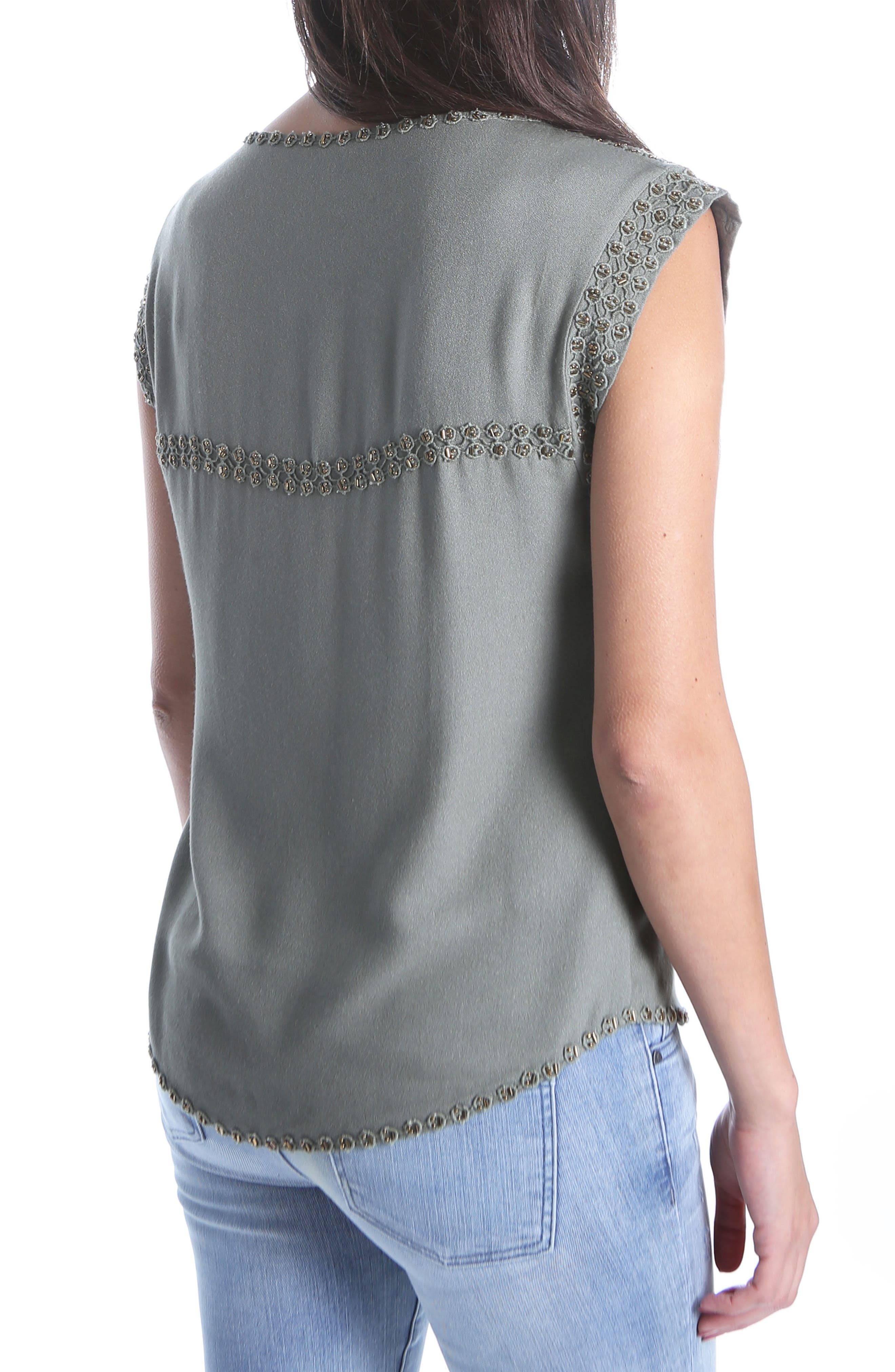 Nenna Embellished Top,                             Alternate thumbnail 2, color,                             317