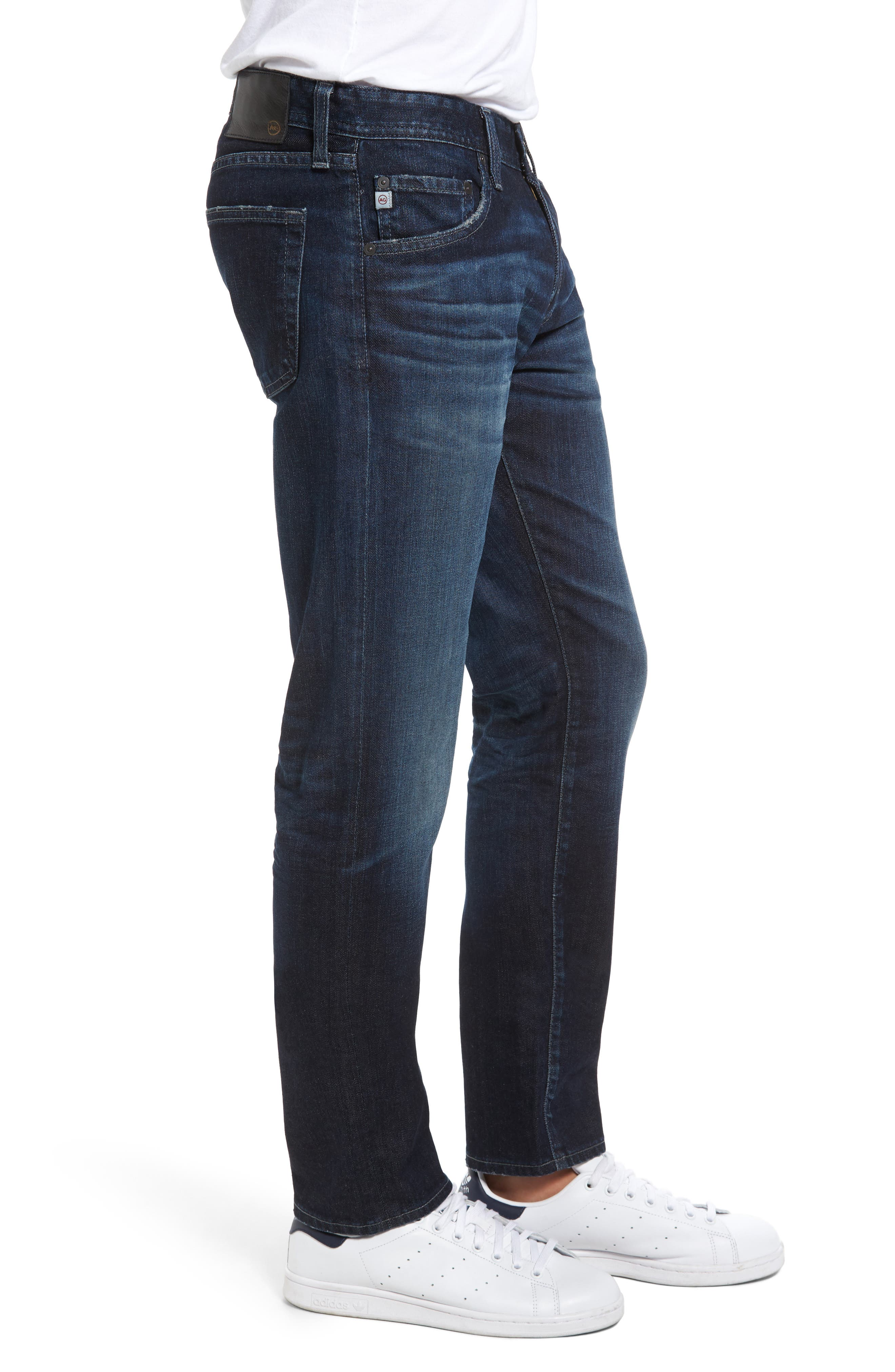 Tellis Slim Fit Jeans,                             Alternate thumbnail 3, color,