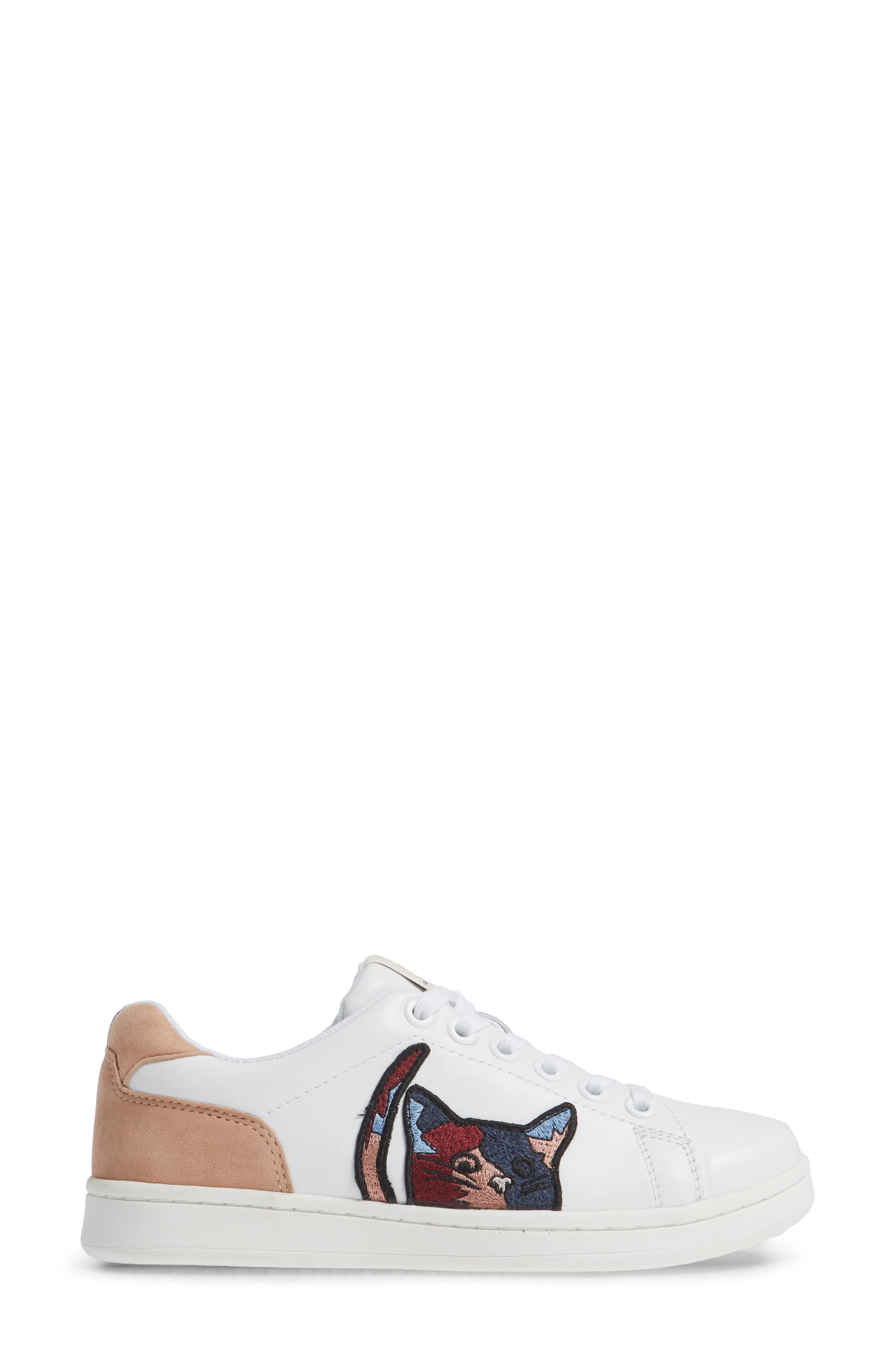 Chapatcha Sneaker,                             Alternate thumbnail 3, color,                             PURE WHITE FABRIC