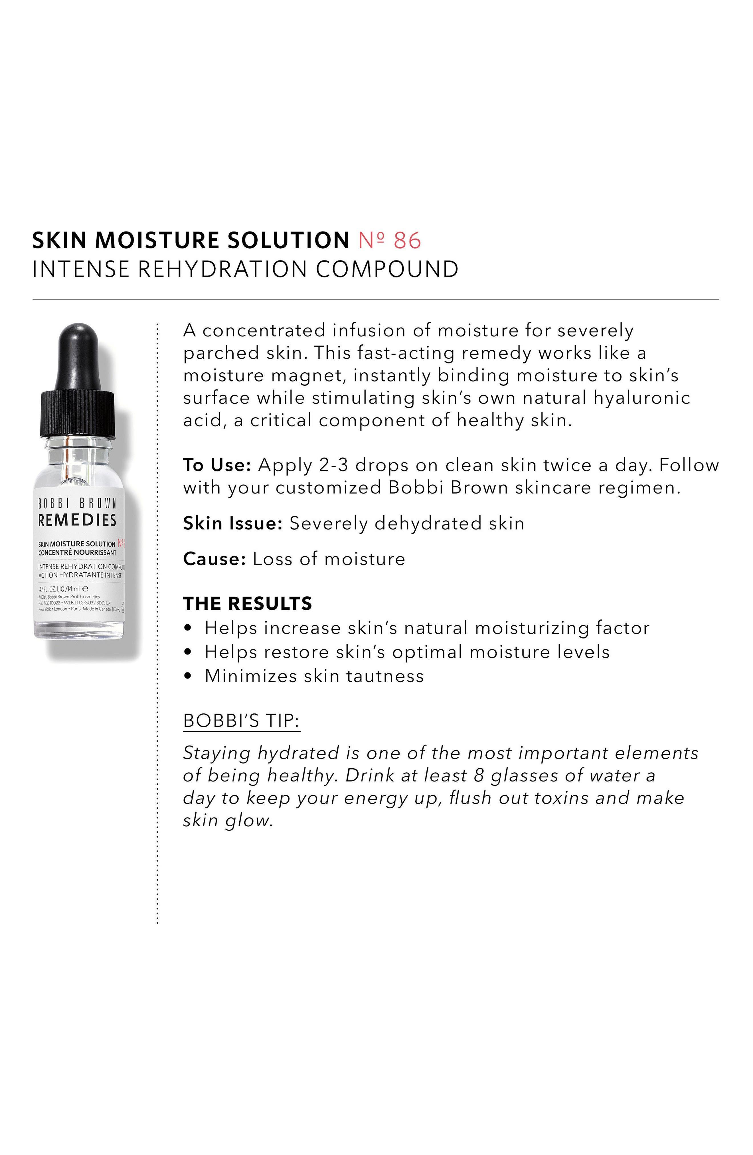 Remedies Skin Moisture Solution Intense Rehydration Compound,                             Alternate thumbnail 4, color,                             NO COLOR