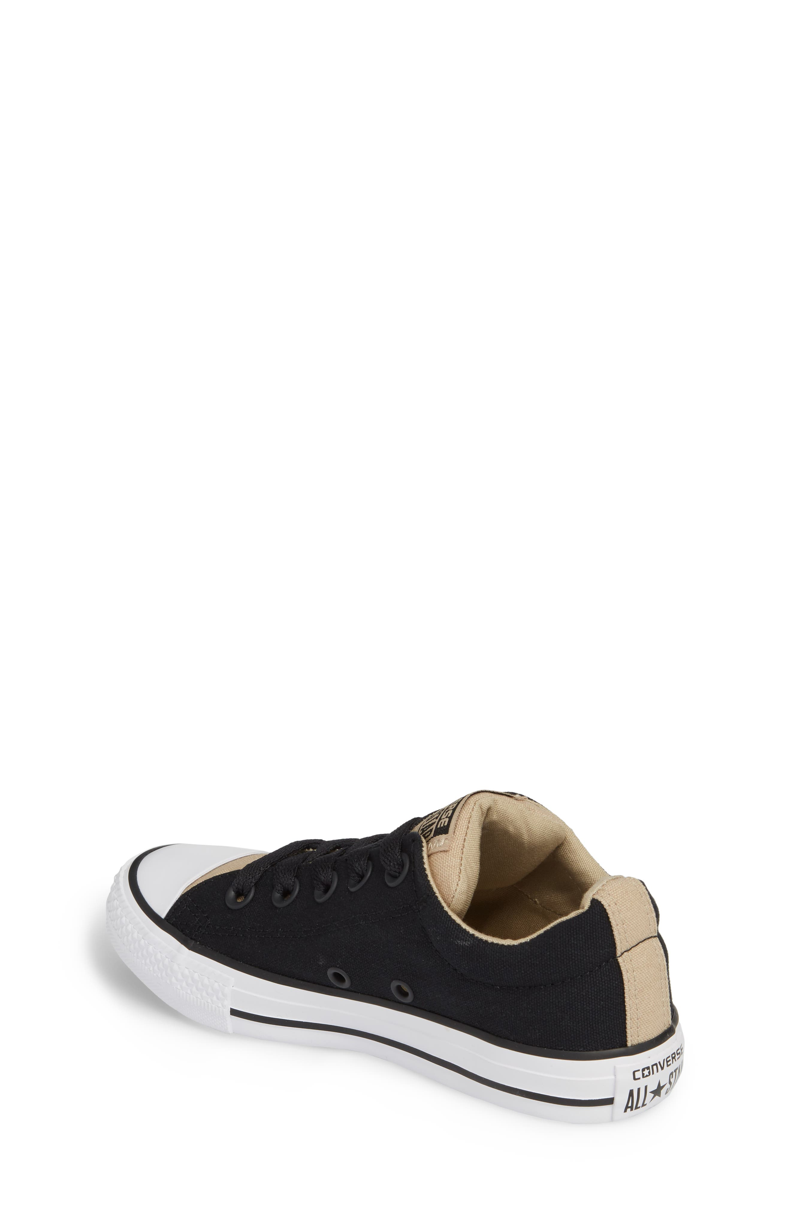 All Star<sup>®</sup> Street Slip Low Top Sneaker,                             Alternate thumbnail 2, color,                             001