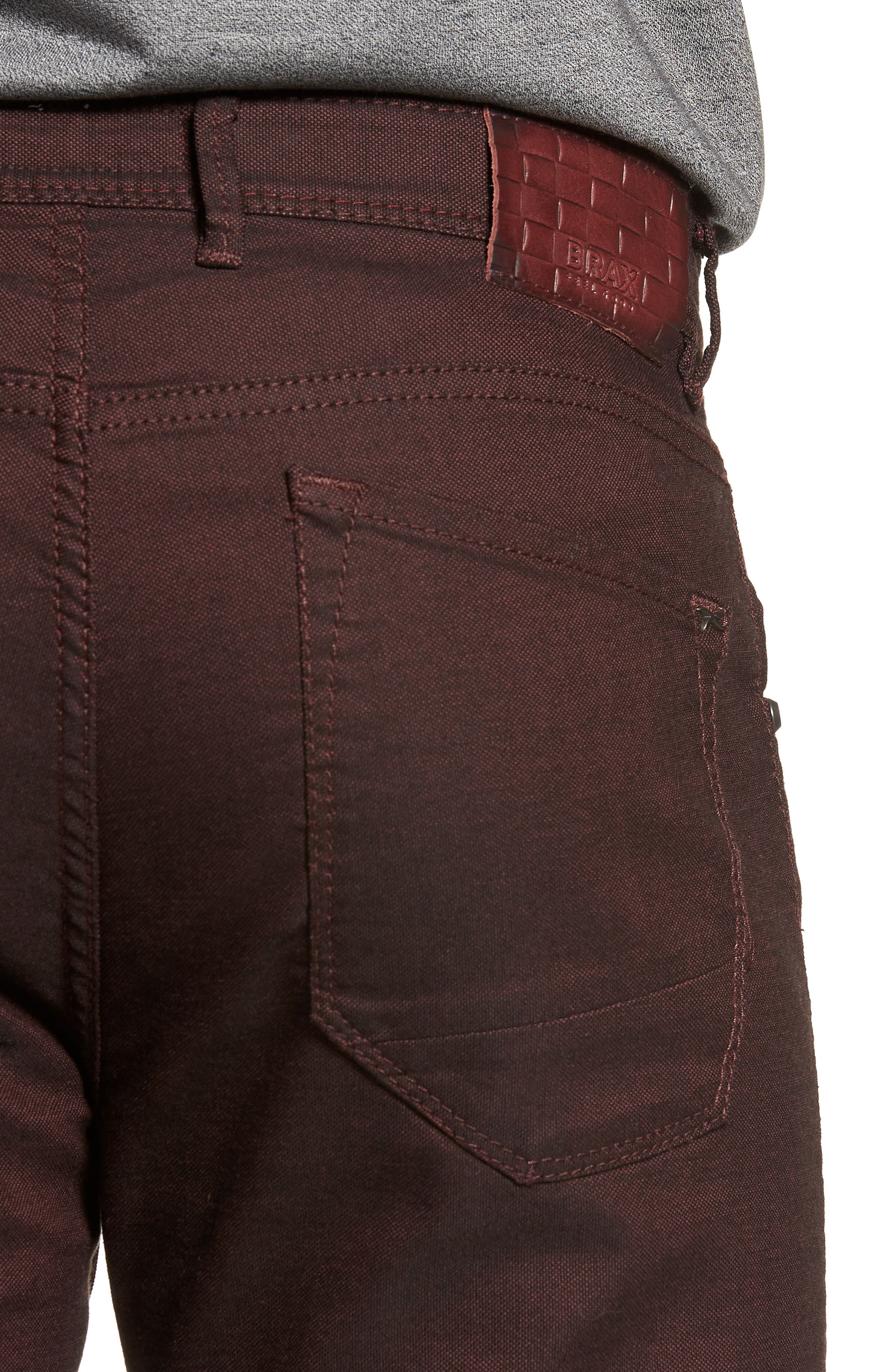 BRAX,                             Slim Fit Five-Pocket Pants,                             Alternate thumbnail 4, color,                             602