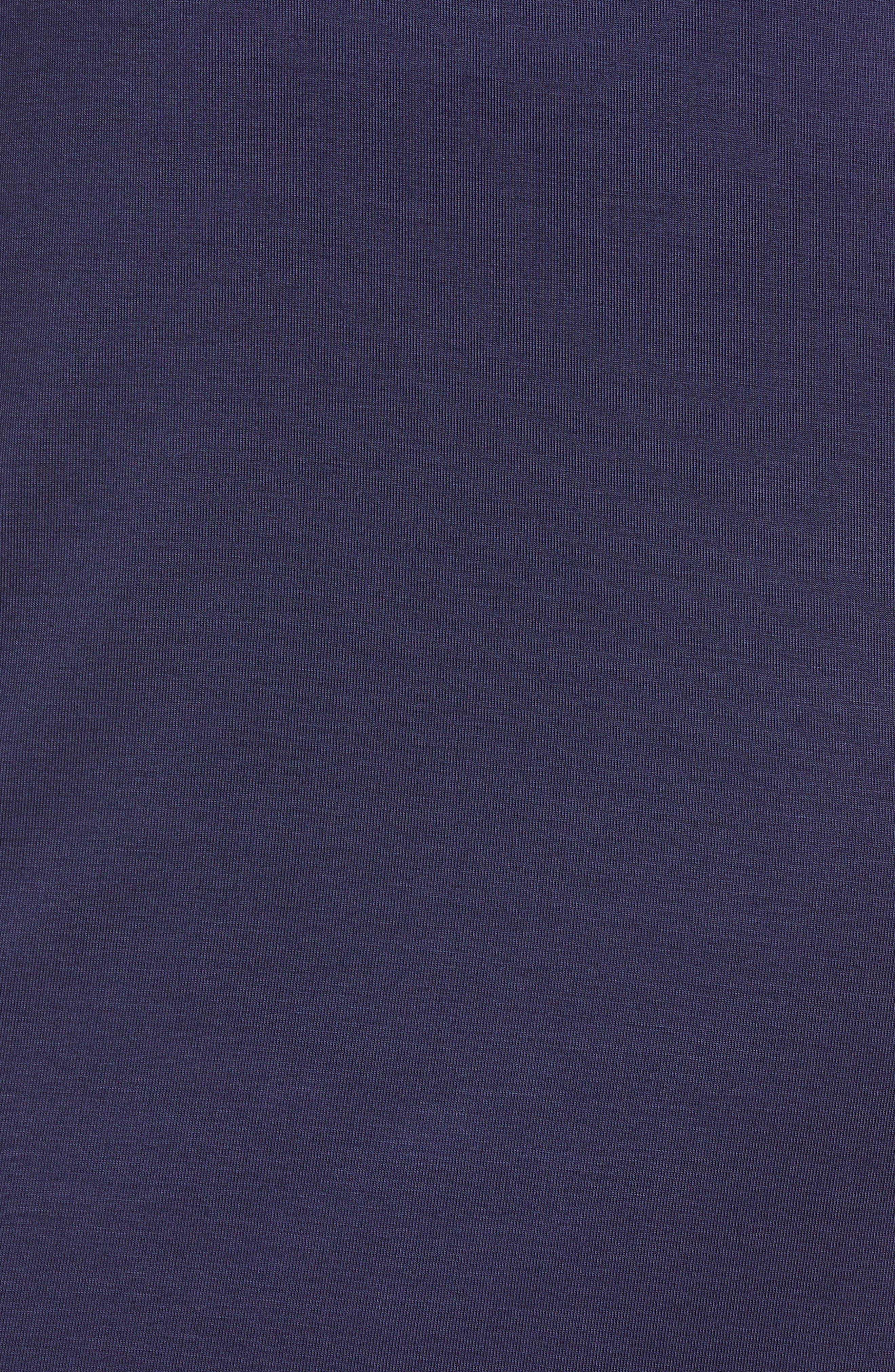 MICHAEL Michal Kors Stripe Sleeve Hoodie Dress,                             Alternate thumbnail 11, color,