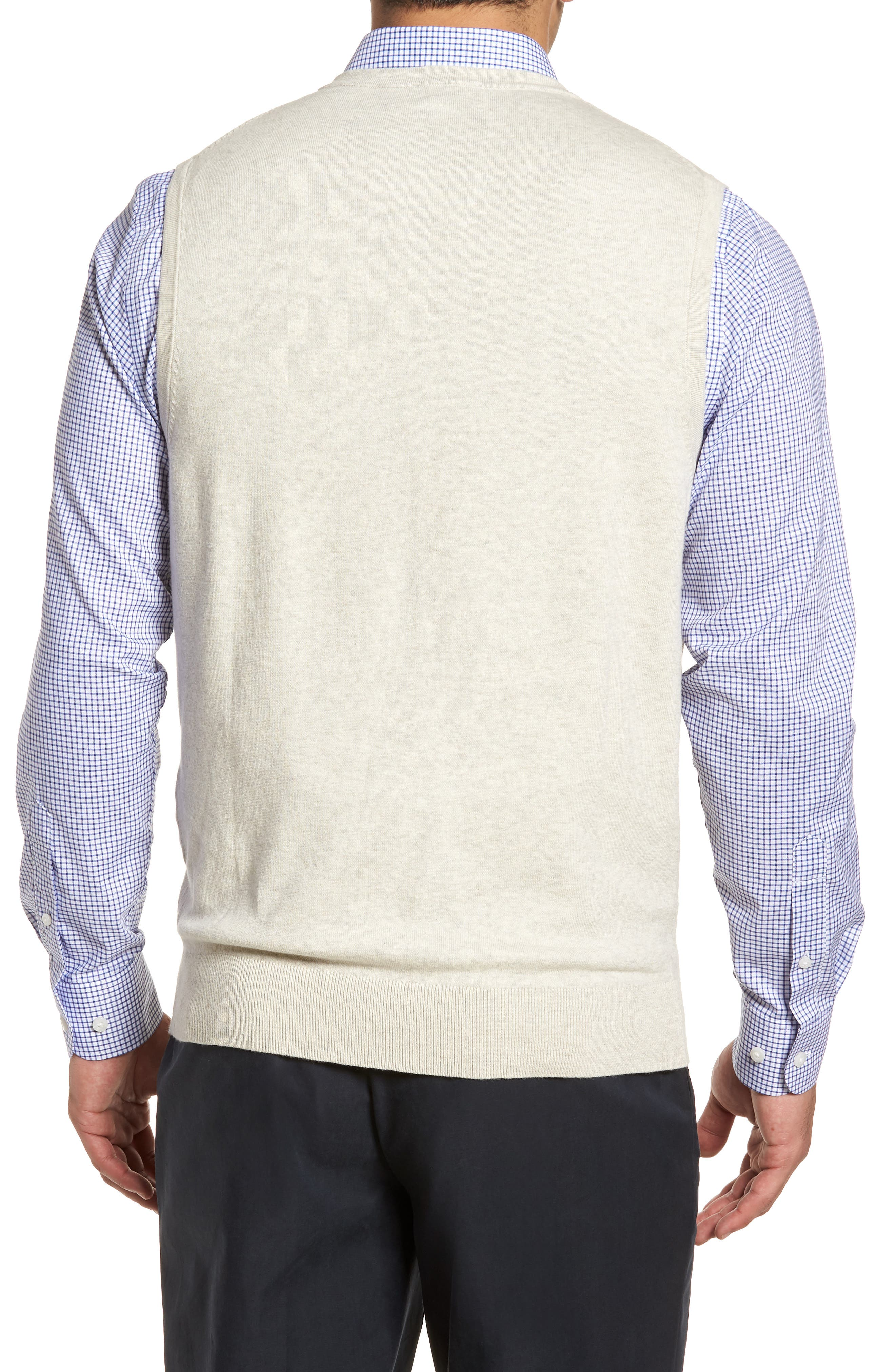Lakemont Classic Fit Sweater Vest,                             Alternate thumbnail 2, color,                             OATMEAL HEATHER