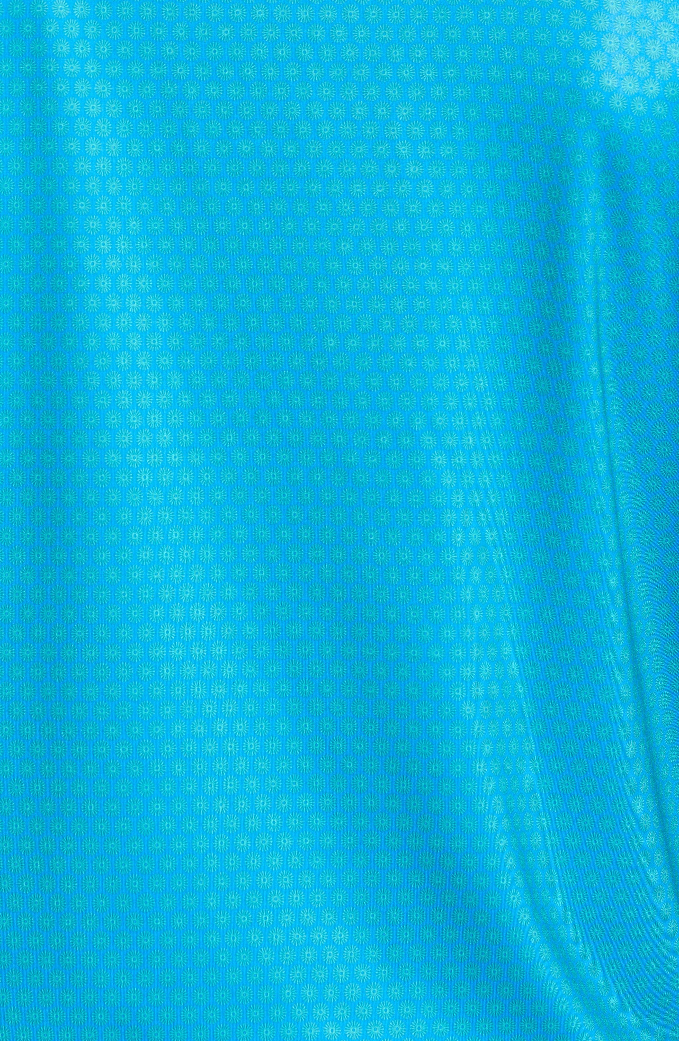 Sean Mata Sunburst Stretch Jersey Polo,                             Alternate thumbnail 5, color,                             403