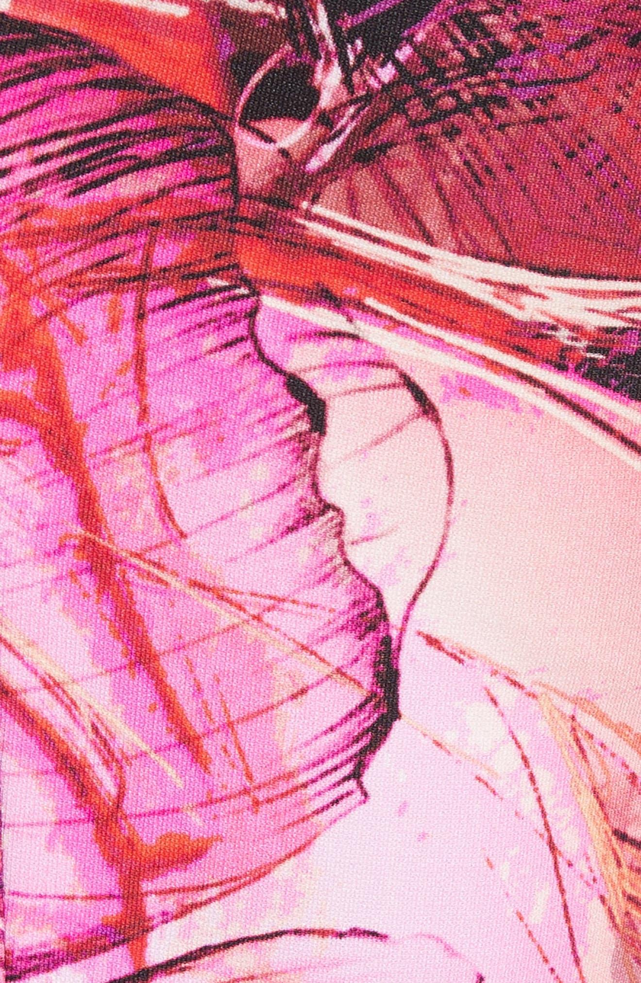 Print Sheath Dress,                             Alternate thumbnail 5, color,                             650