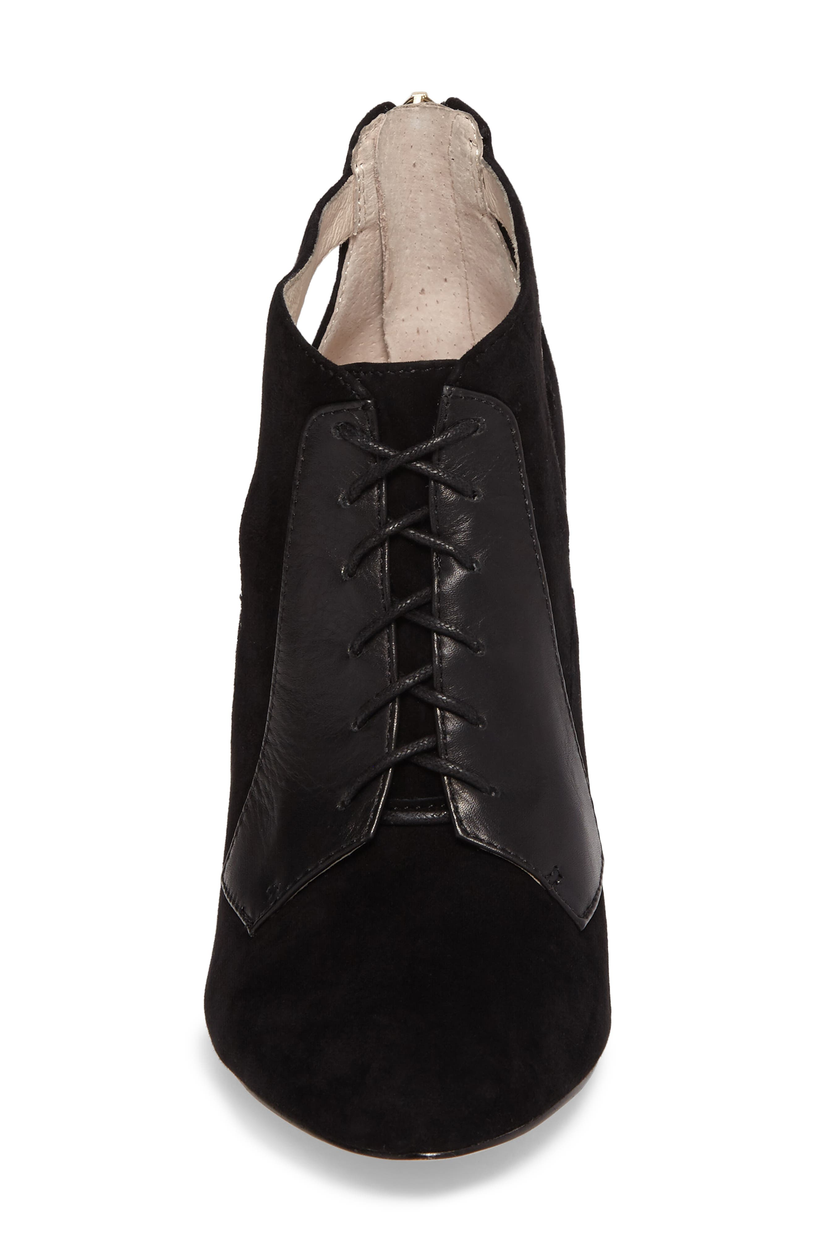 Ionia Lace-Up Pump,                             Alternate thumbnail 4, color,                             001