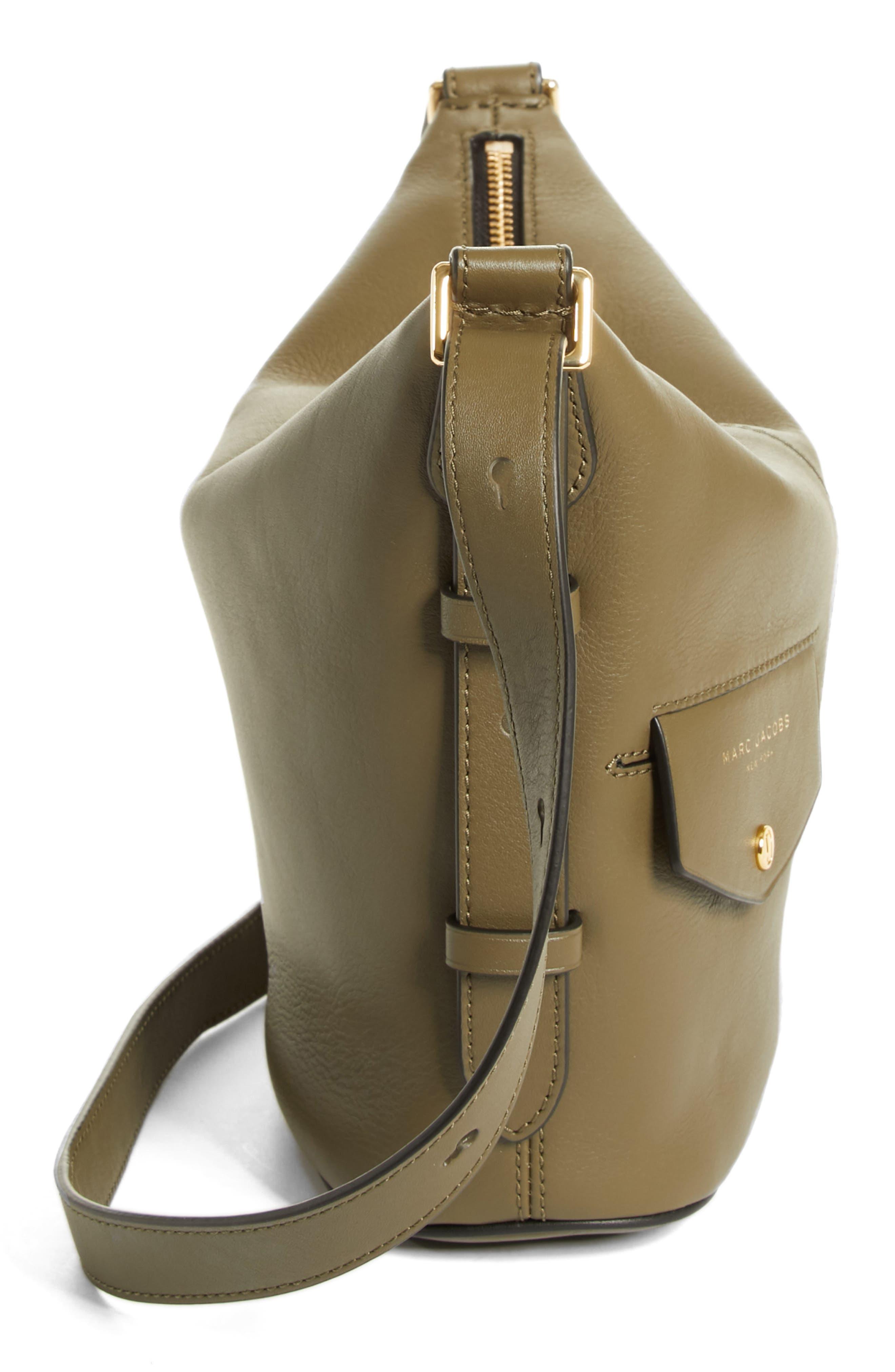 The Mini Sling Convertible Leather Hobo,                             Alternate thumbnail 32, color,