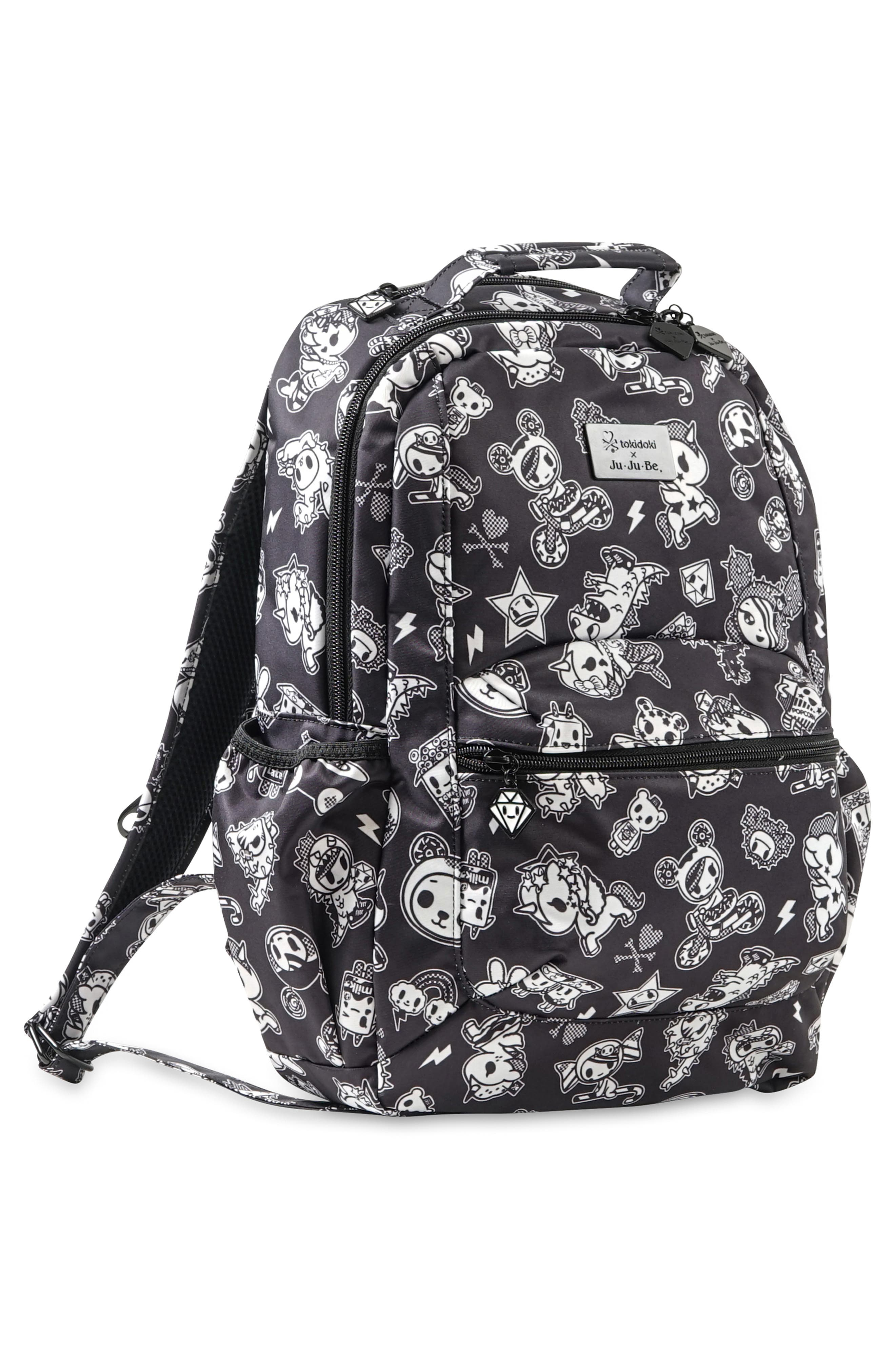 x tokidoki Be Packed Diaper Backpack,                             Alternate thumbnail 4, color,                             009