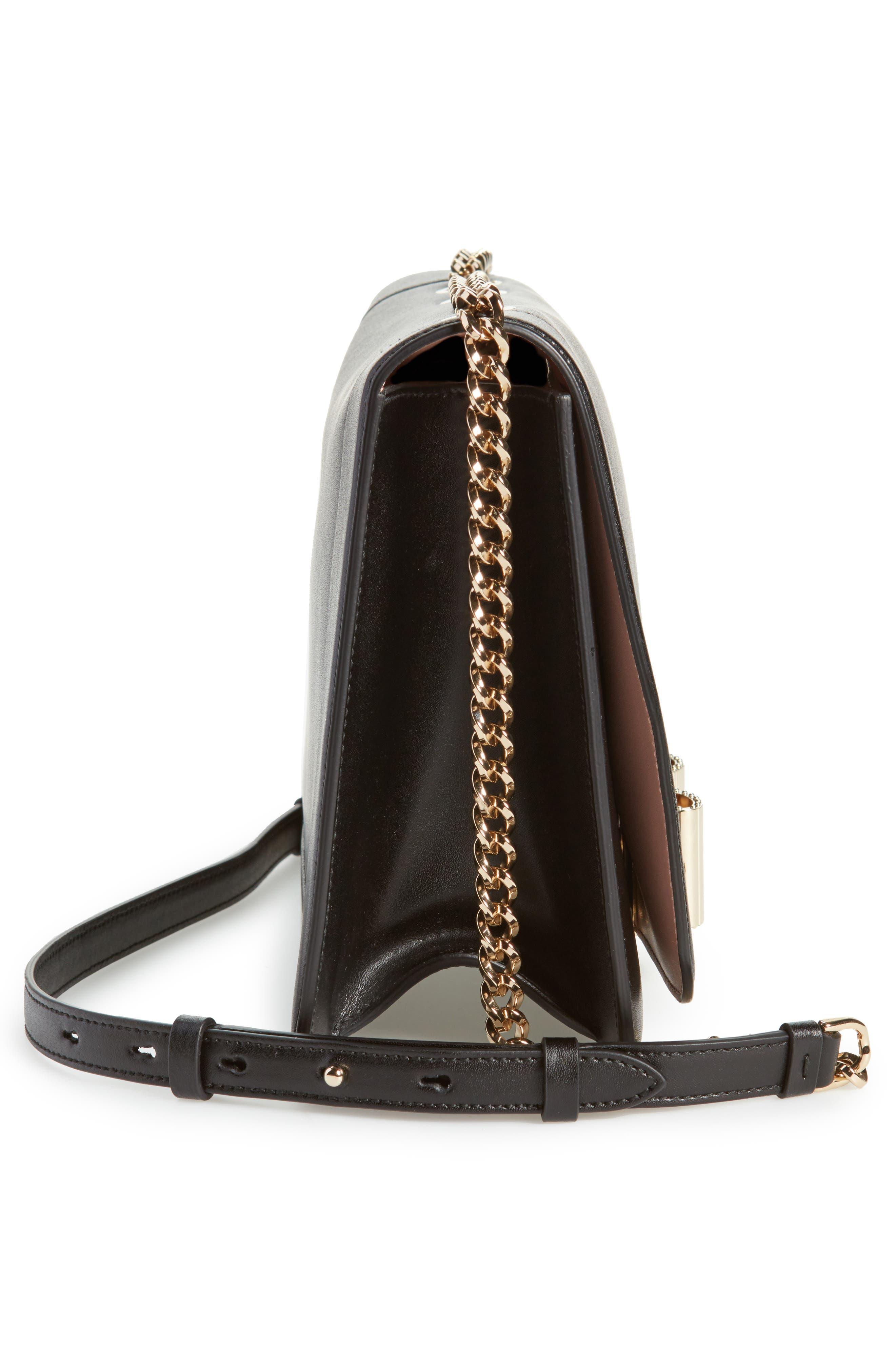 Vara Leather Shoulder Bag,                             Alternate thumbnail 5, color,