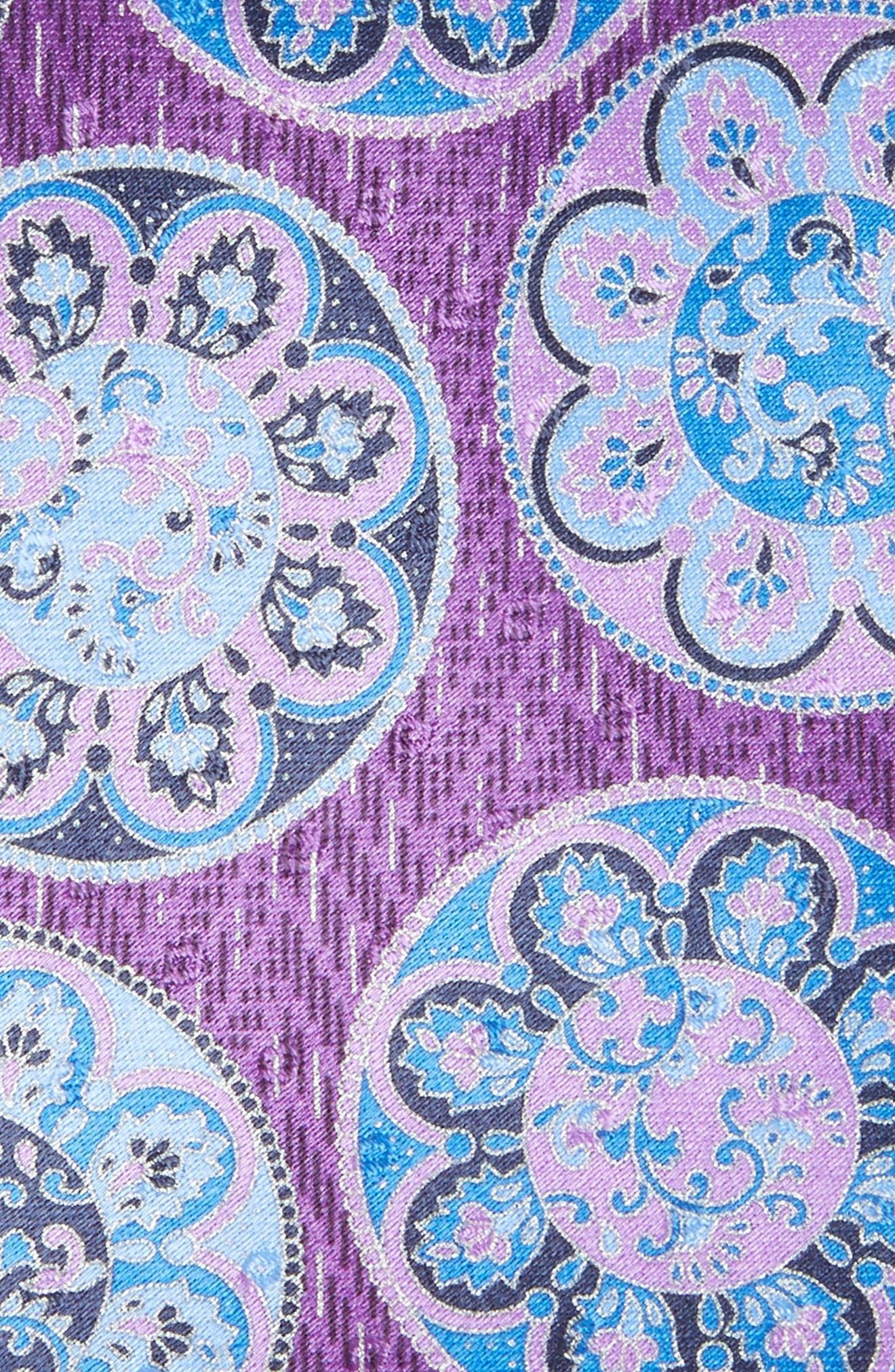 Medallion Silk Tie,                             Alternate thumbnail 2, color,                             518
