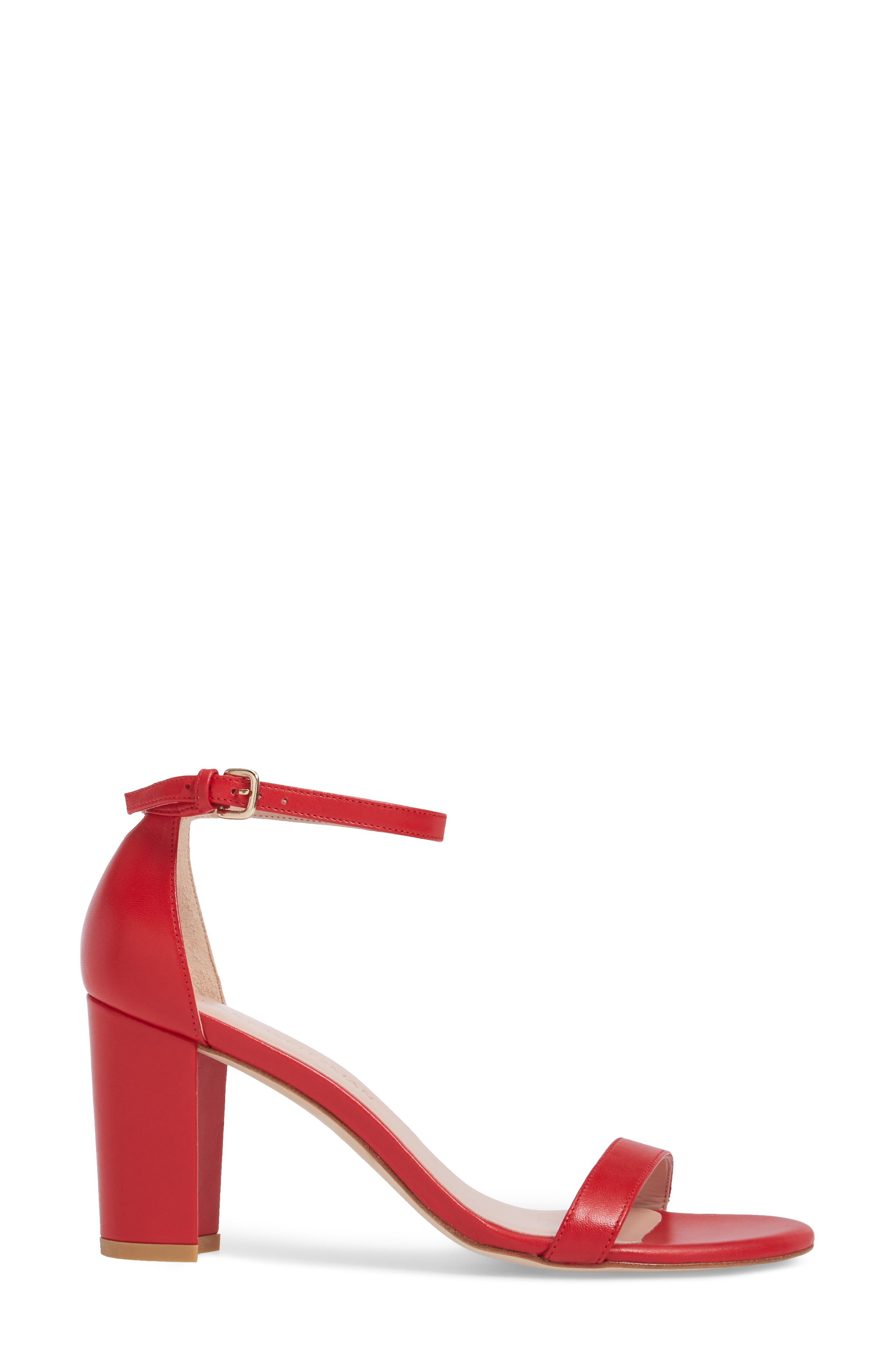 NearlyNude Ankle Strap Sandal,                             Alternate thumbnail 61, color,