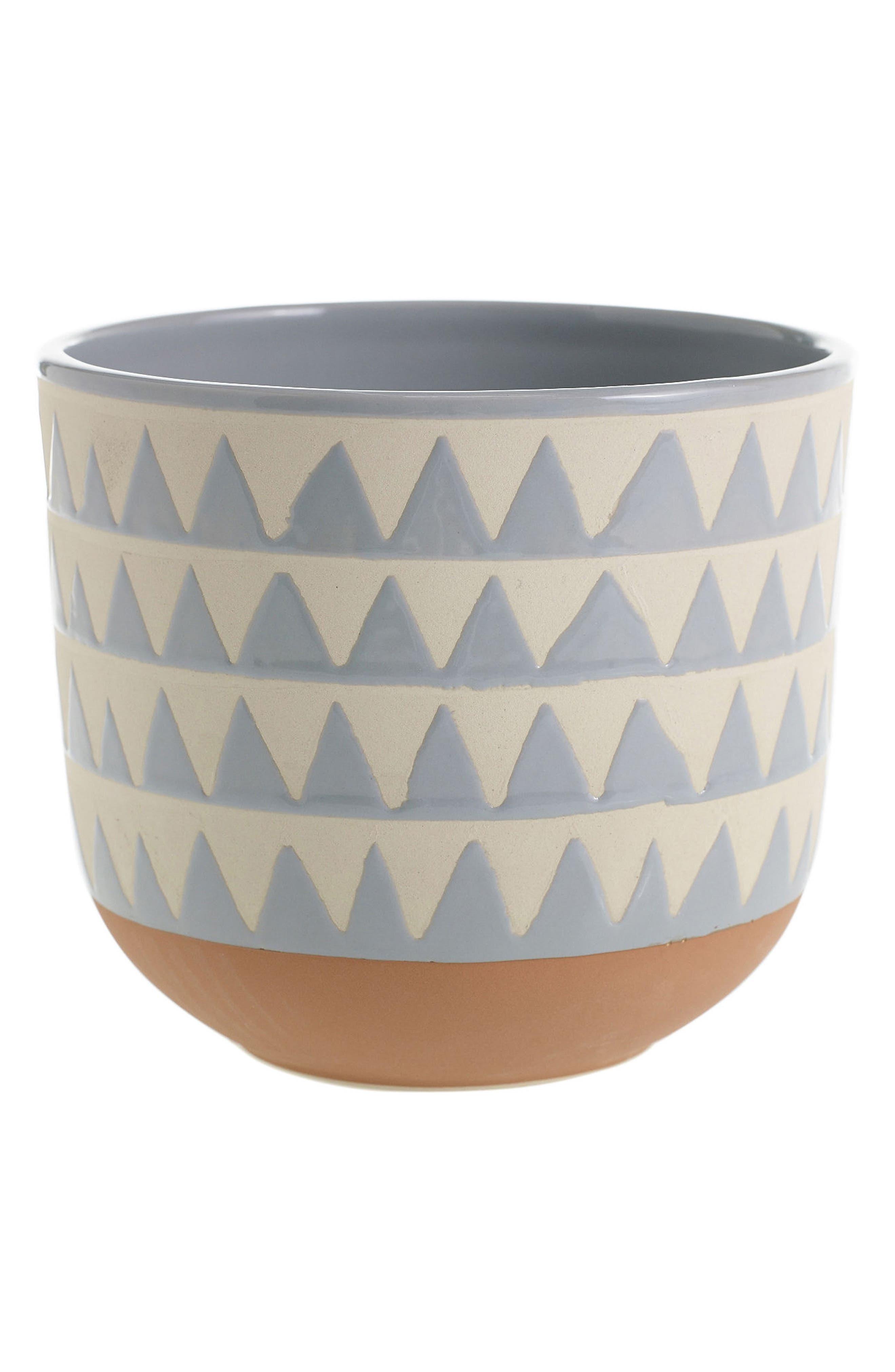 Sully Ceramic Pot,                             Main thumbnail 1, color,