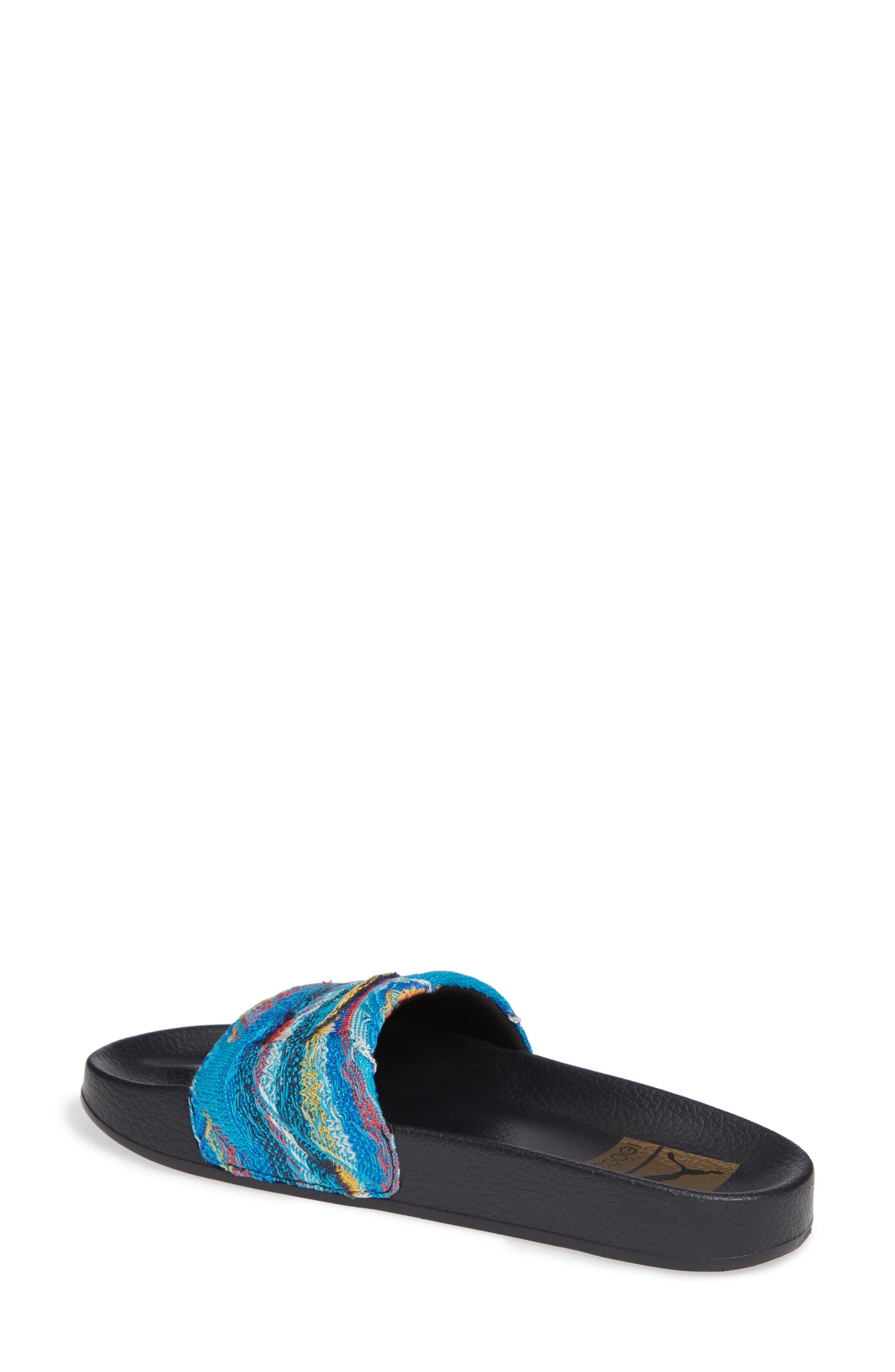 Leadcat Coogie Slide Sandal,                             Alternate thumbnail 2, color,                             ISLAND PARADISE/ PUMA BLACK