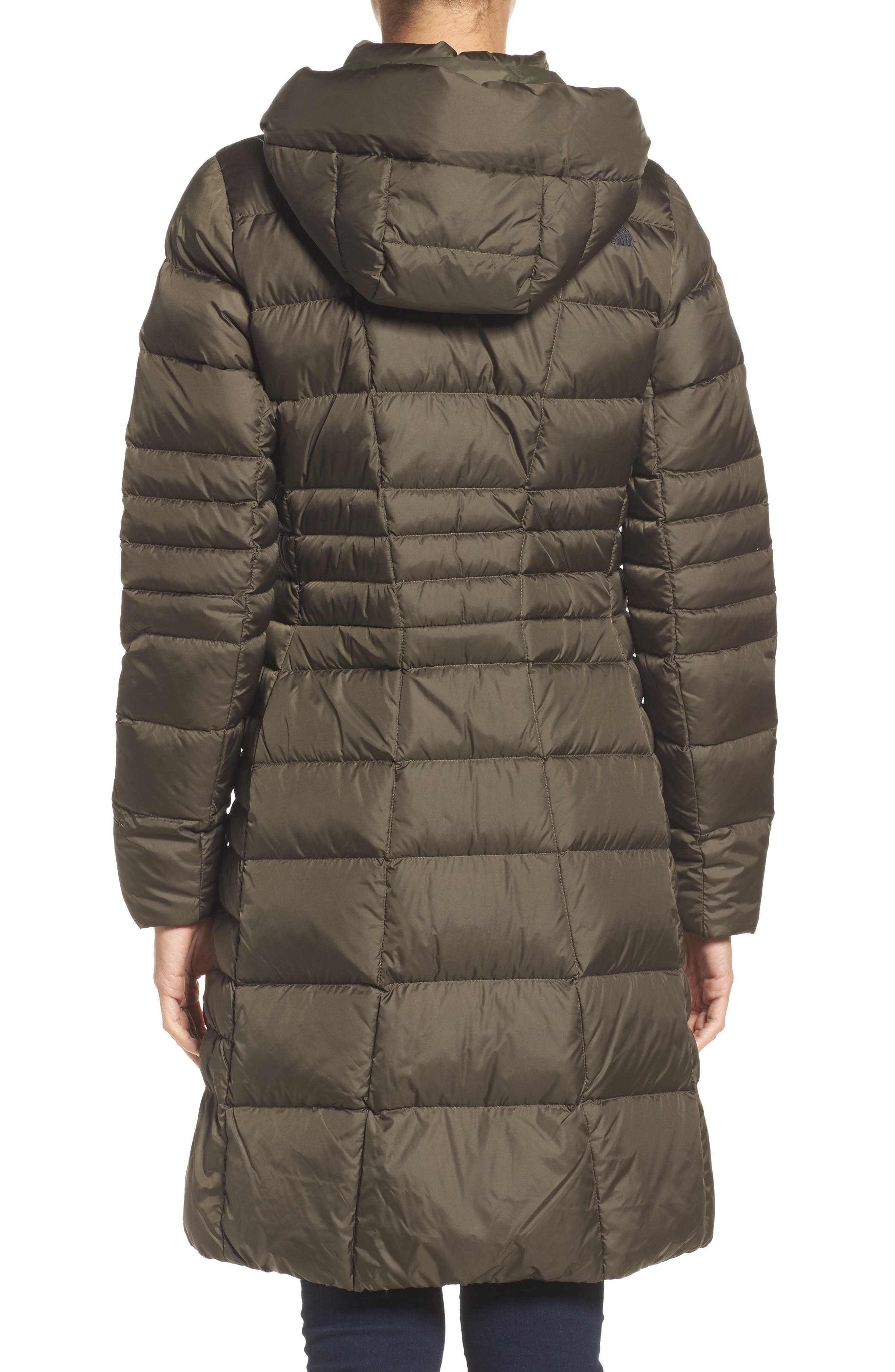 Metropolis II Hooded Water Resistant Down Parka,                             Alternate thumbnail 2, color,                             NEW TAUPE