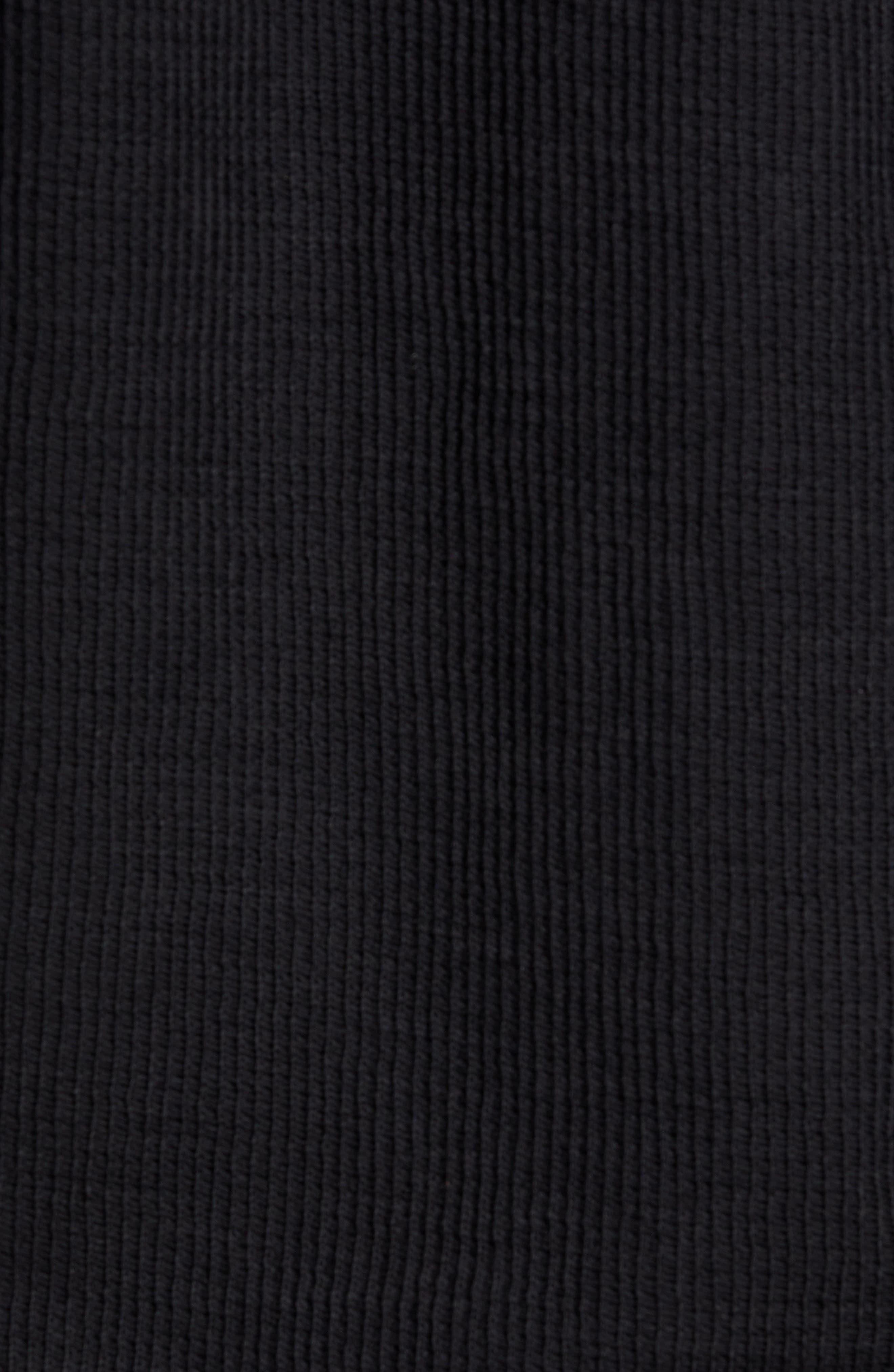 Sportswear Air Force 1 Long Sleeve Top,                             Alternate thumbnail 5, color,                             BLACK
