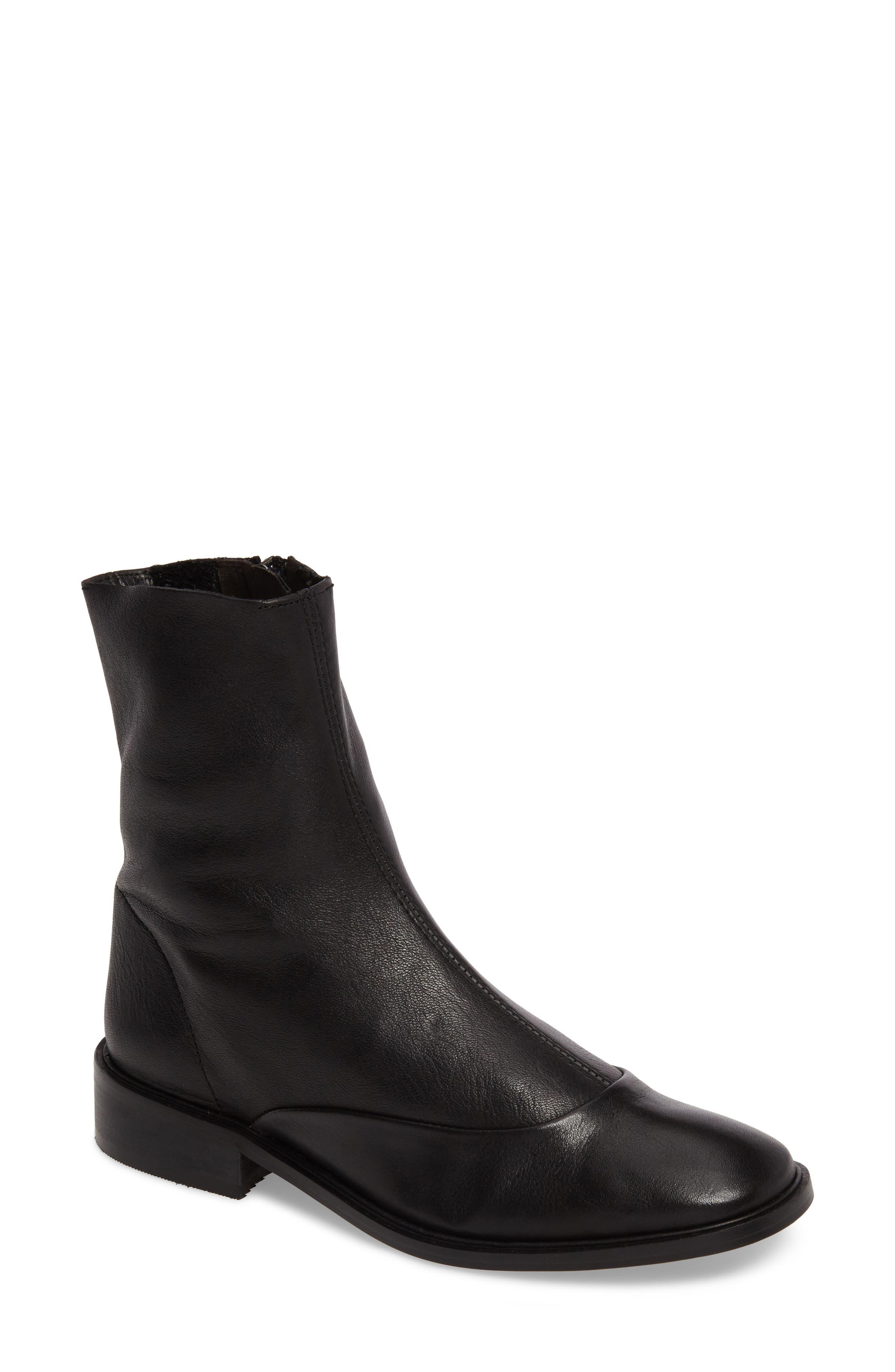 April Sock Boots,                         Main,                         color, 001