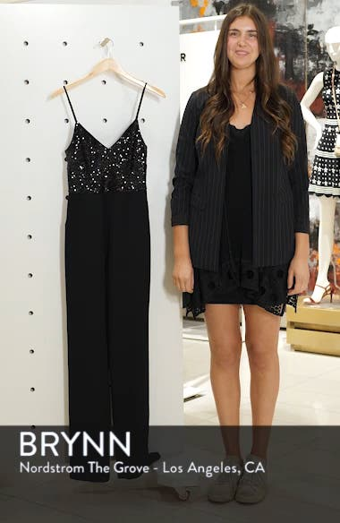 Sequin Embellished Jumpsuit, sales video thumbnail