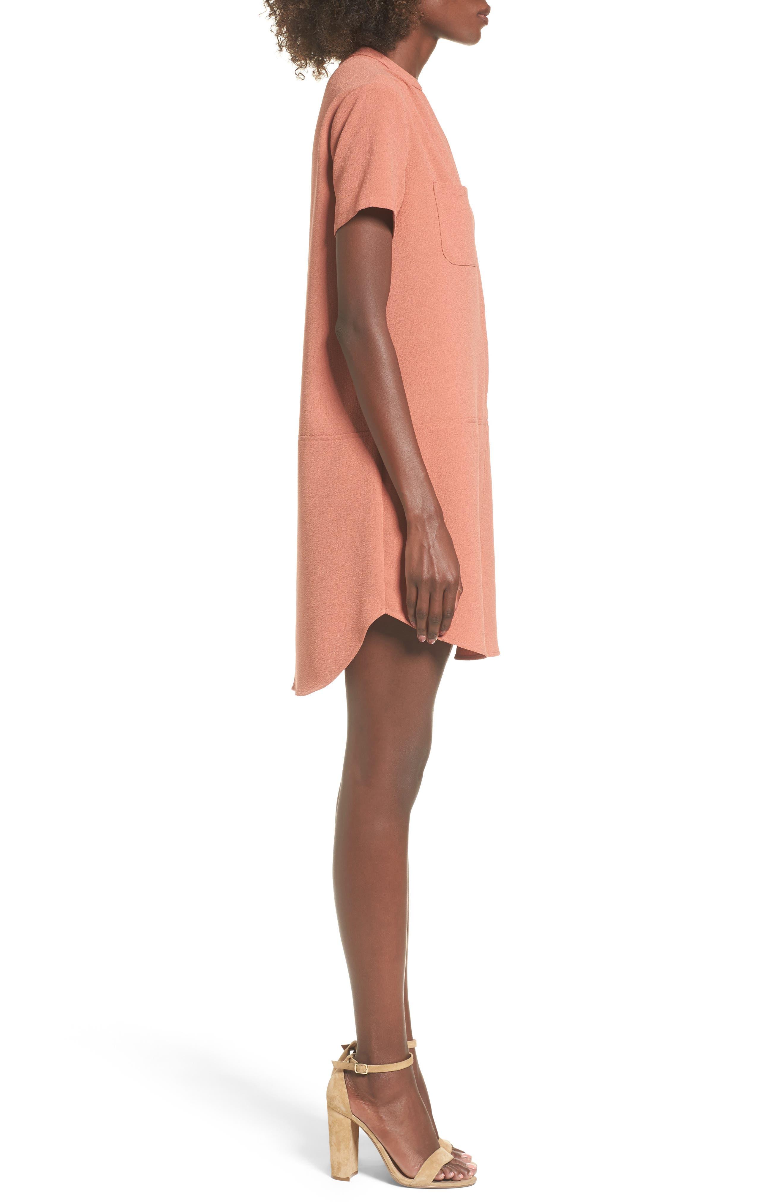 Hailey Crepe Dress,                             Alternate thumbnail 83, color,