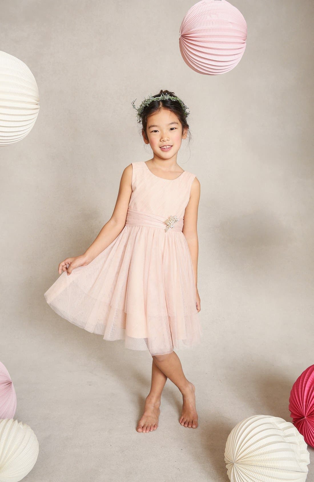 Etsy Tulle Dress,                             Main thumbnail 1, color,                             CAMEO PINK